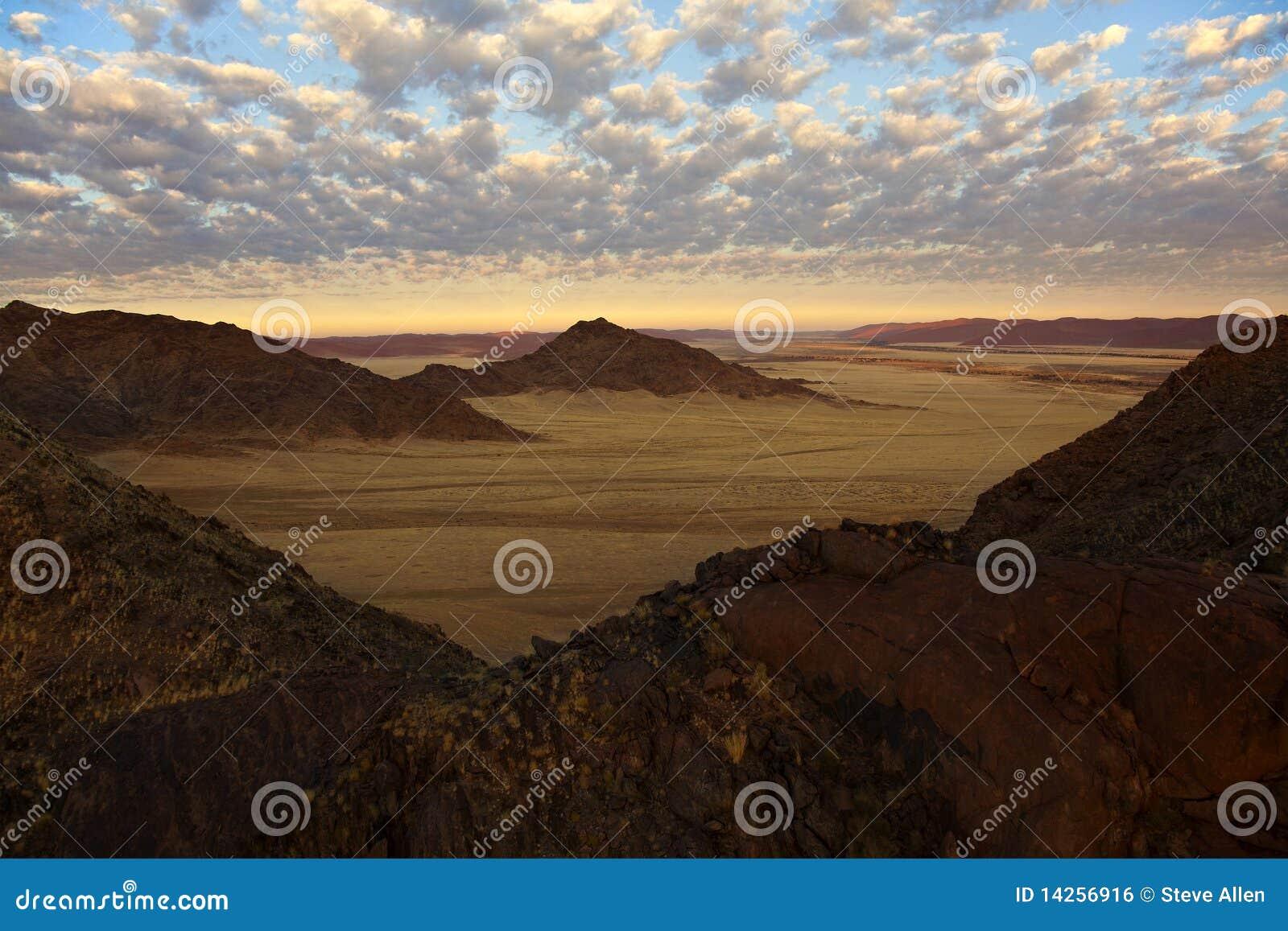 εναέρια όψη της Ναμίμπια ερήμ&o
