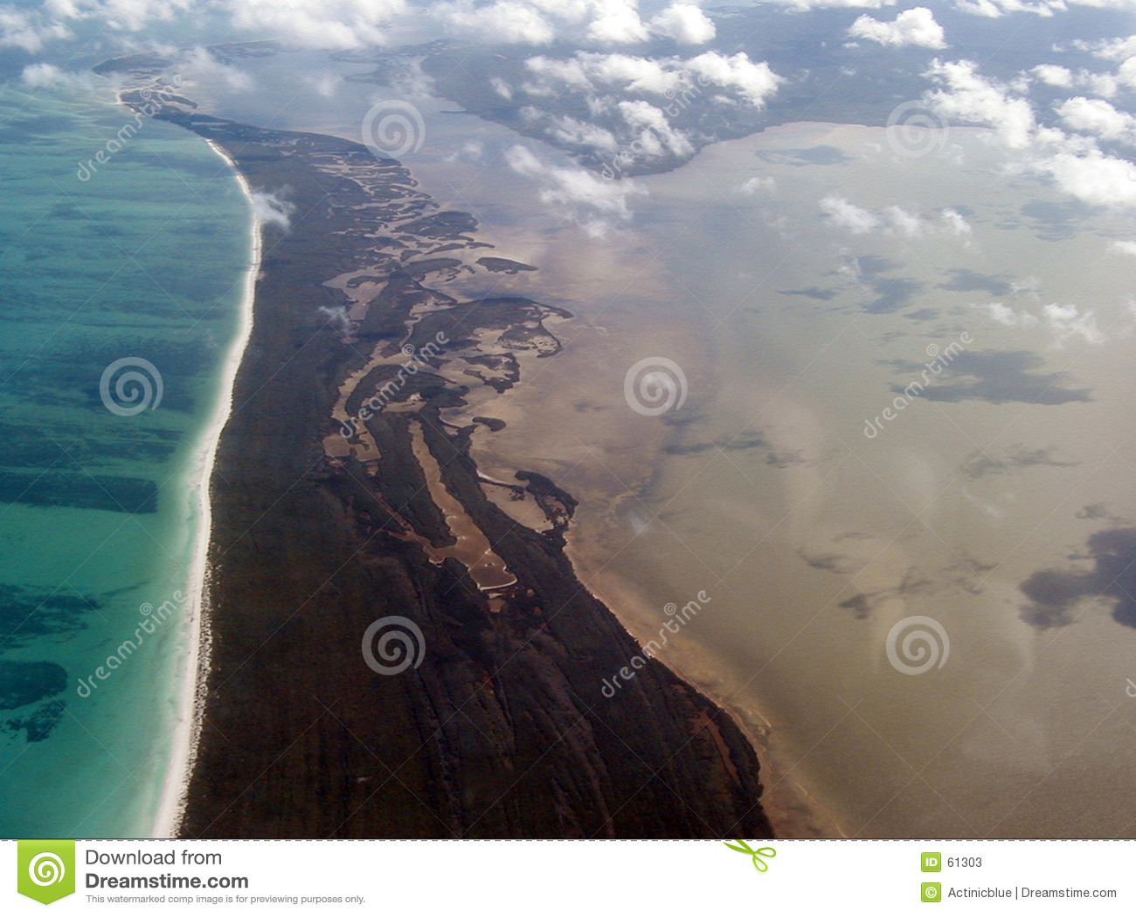 εναέριες Καραϊβικές Θάλασσες