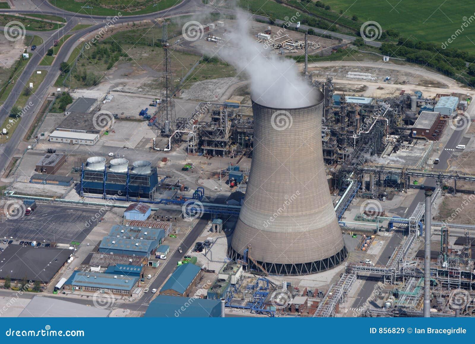 εναέριος βαλμένος φωτιά σταθμός παραγωγής ηλεκτρικού ρεύματος αερίου