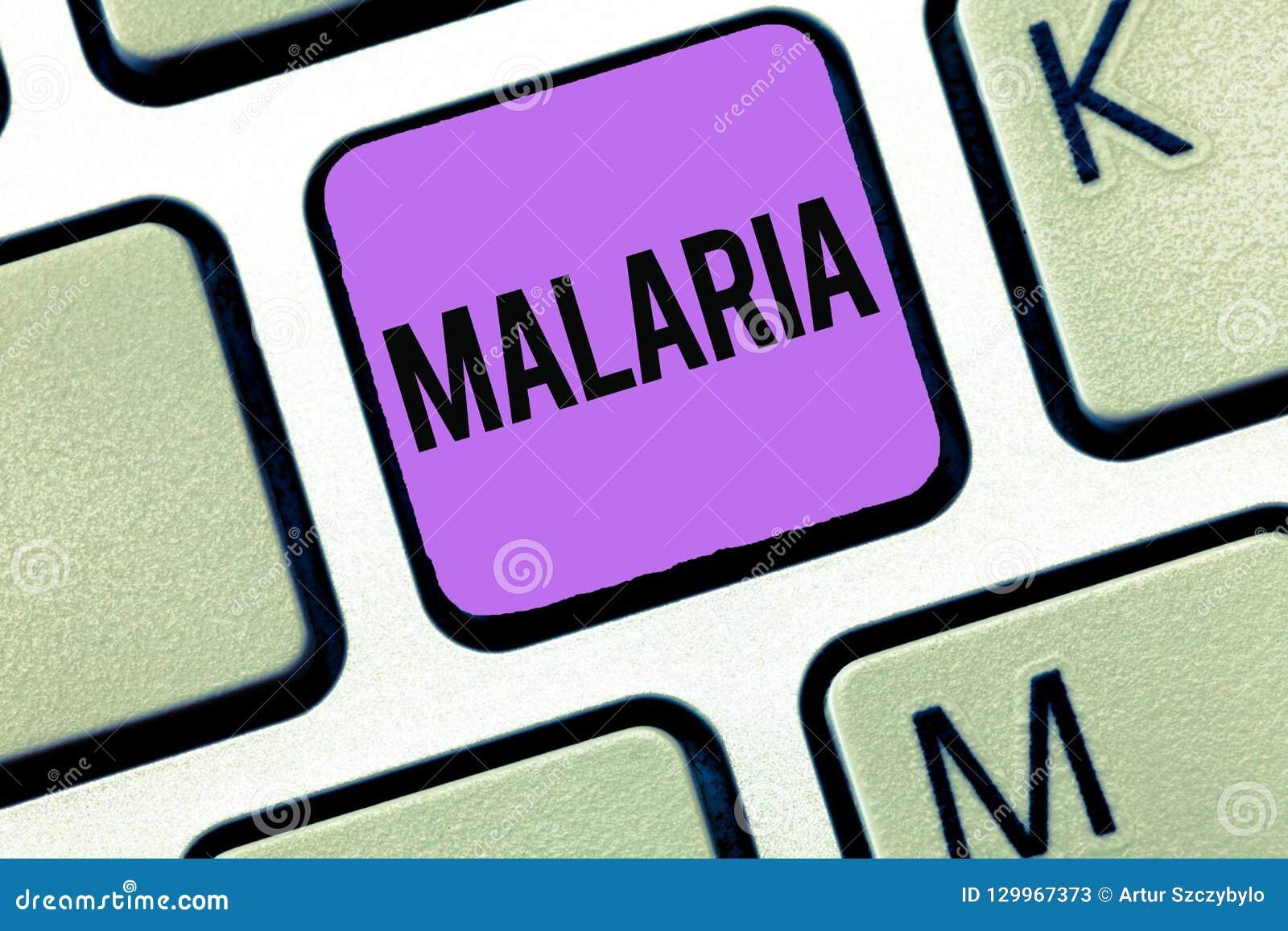 Εννοιολογικό χέρι που γράφει παρουσιάζοντας ελονοσία Επιχειρησιακή φωτογραφία που επιδεικνύει τις απειλητικές για τη ζωή μεταδιδό
