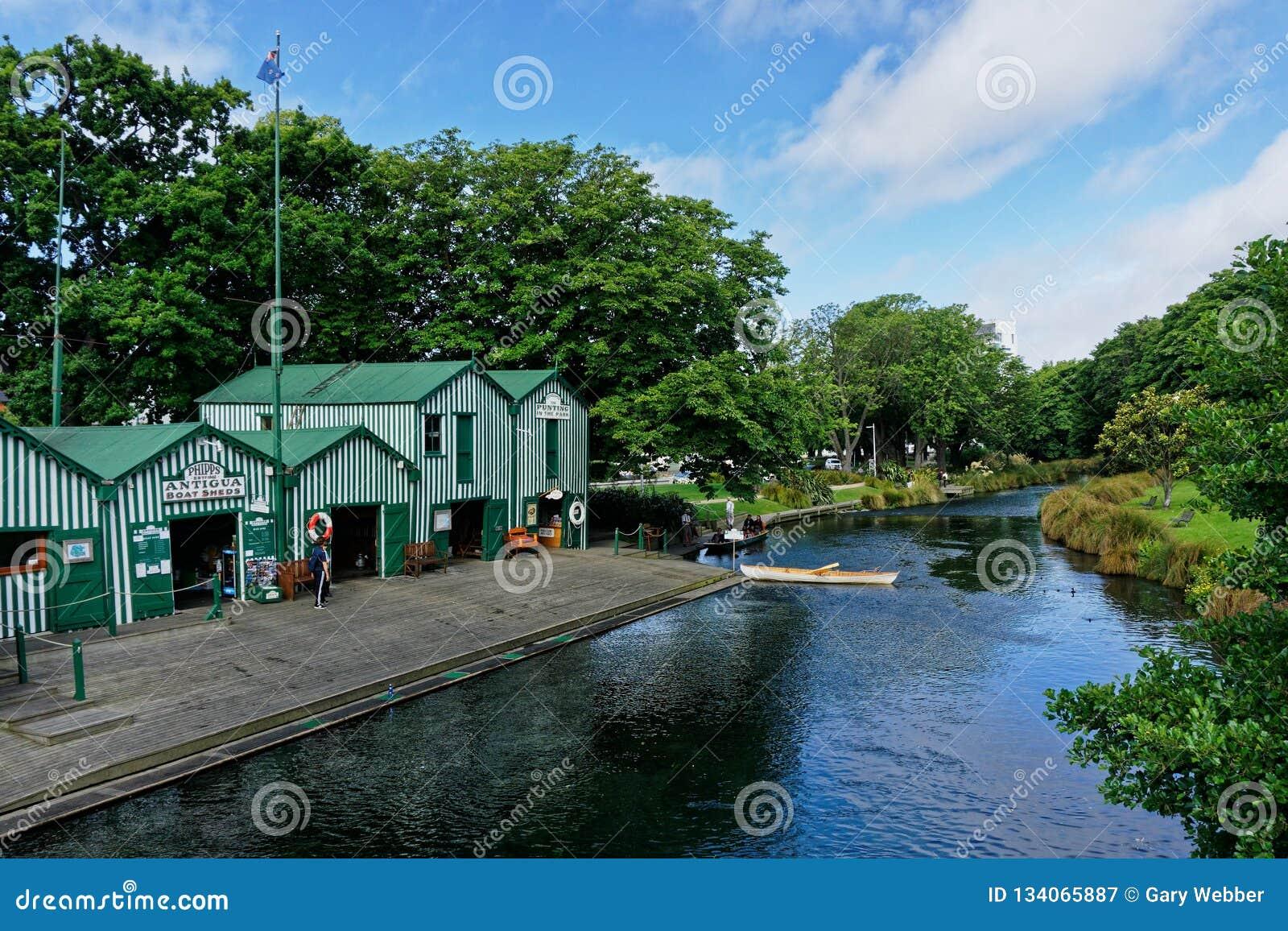 Ενοίκια Pleasureboat στον ποταμό Avon, Christchurch, Νέα Ζηλανδία