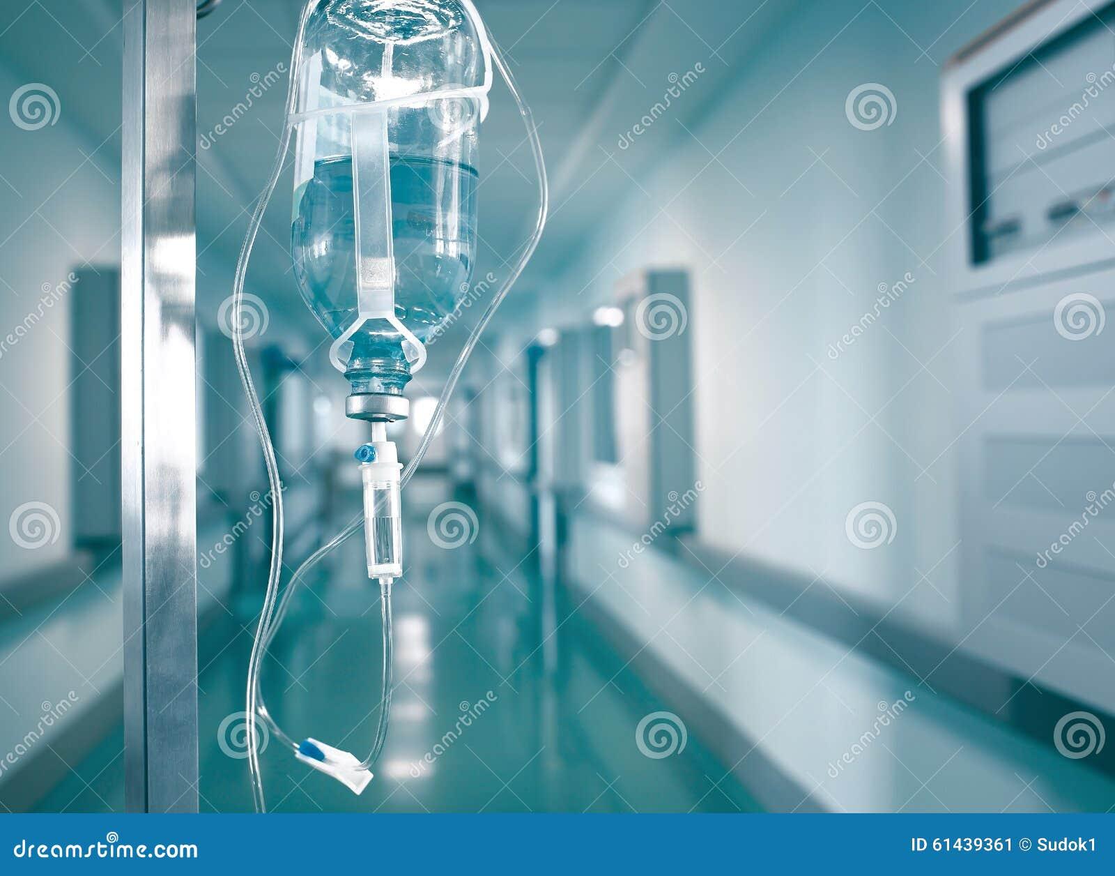 Εντατική θεραπεία με τα ενδοφλέβια φάρμακα σε IV σταλαγματιά