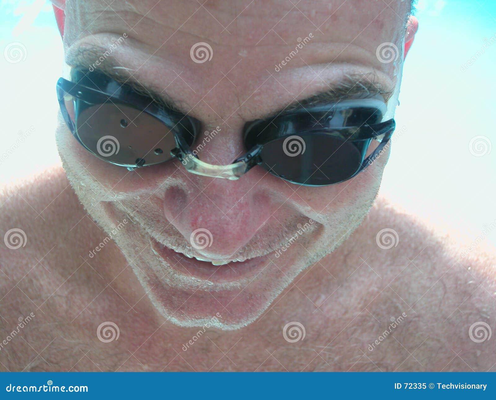 ενυδατωμένος κολυμβητής