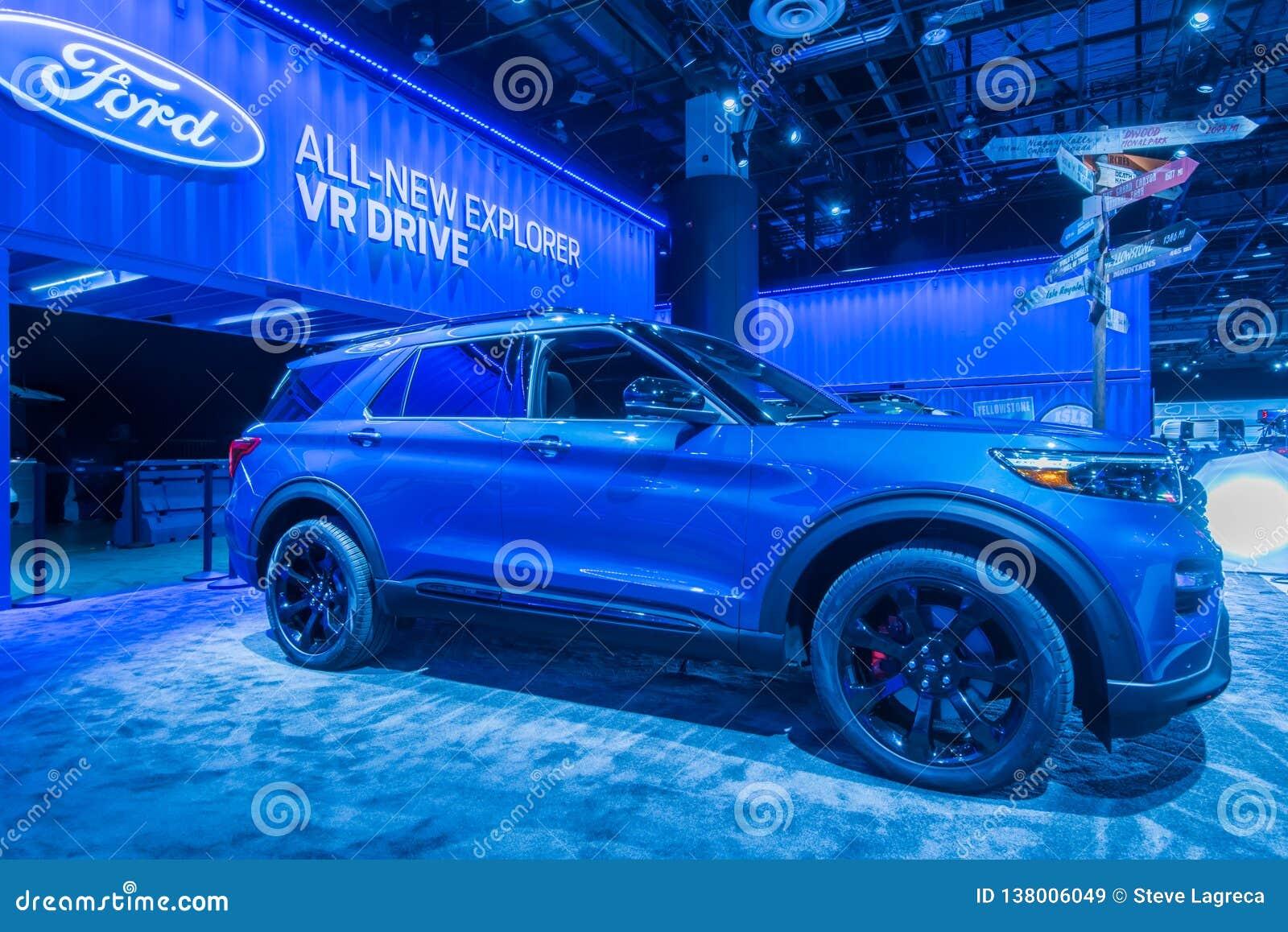 2020 εξερευνητής της Ford