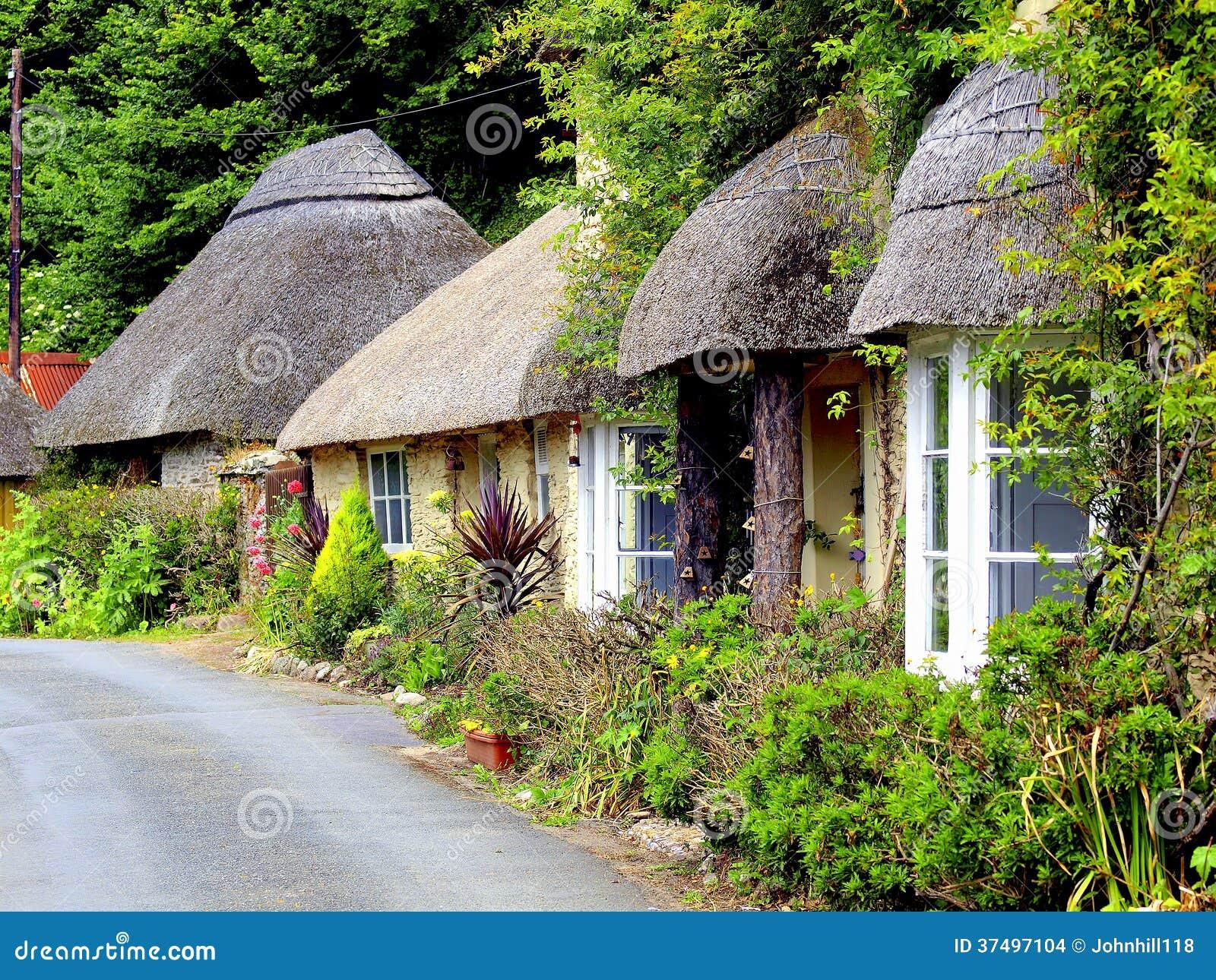Εξοχικά σπίτια Thatched, νότος Devon.