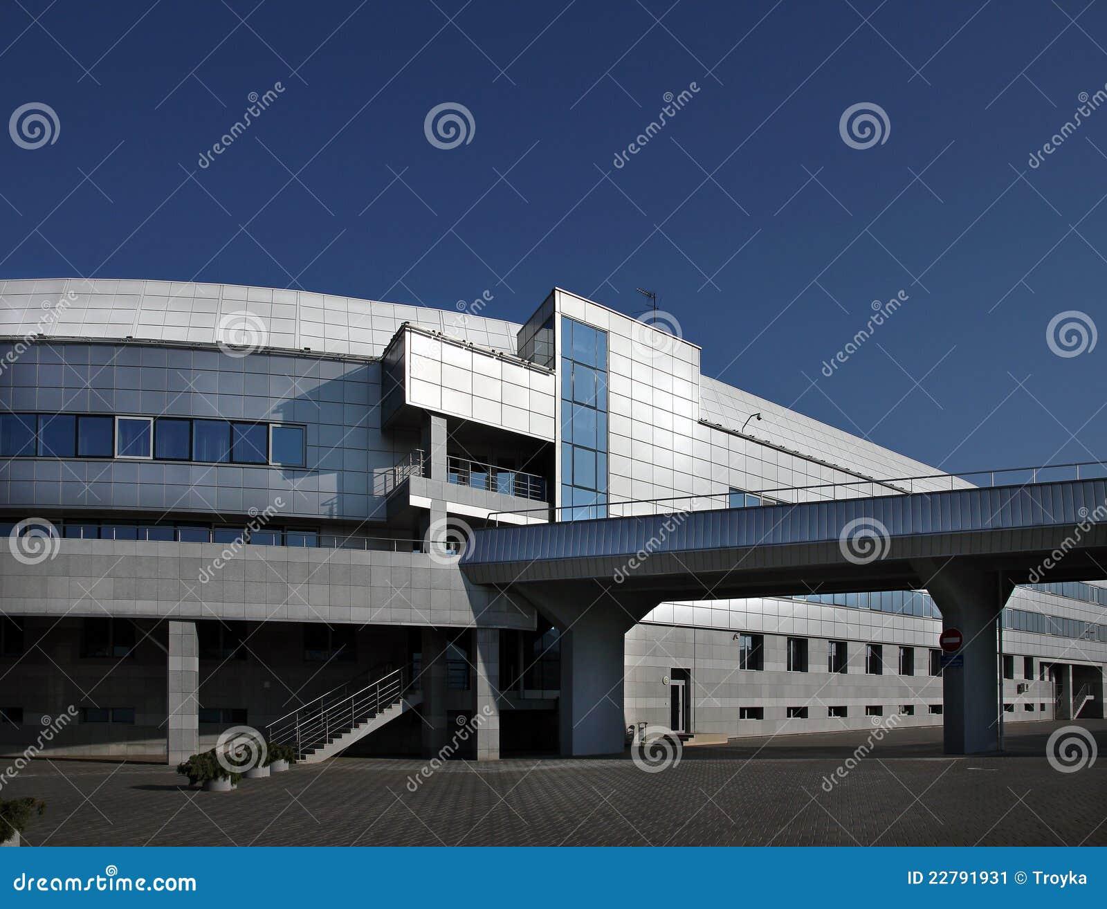 εξωτερικός βιομηχανικός οικοδόμησης