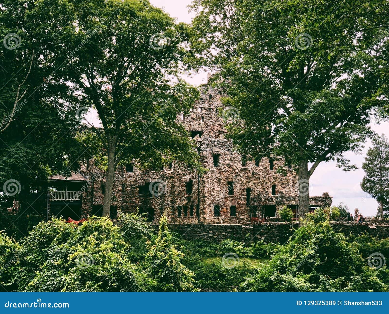 Εξωτερικό του Gillette Castle