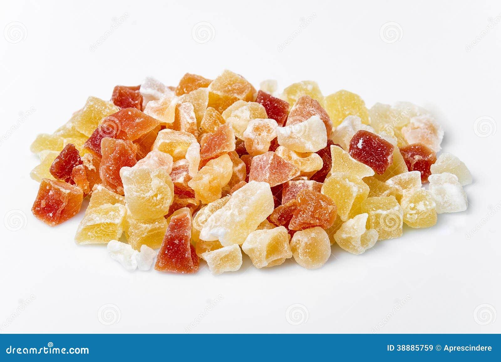 Εξωτικός ξηρός - φρούτα