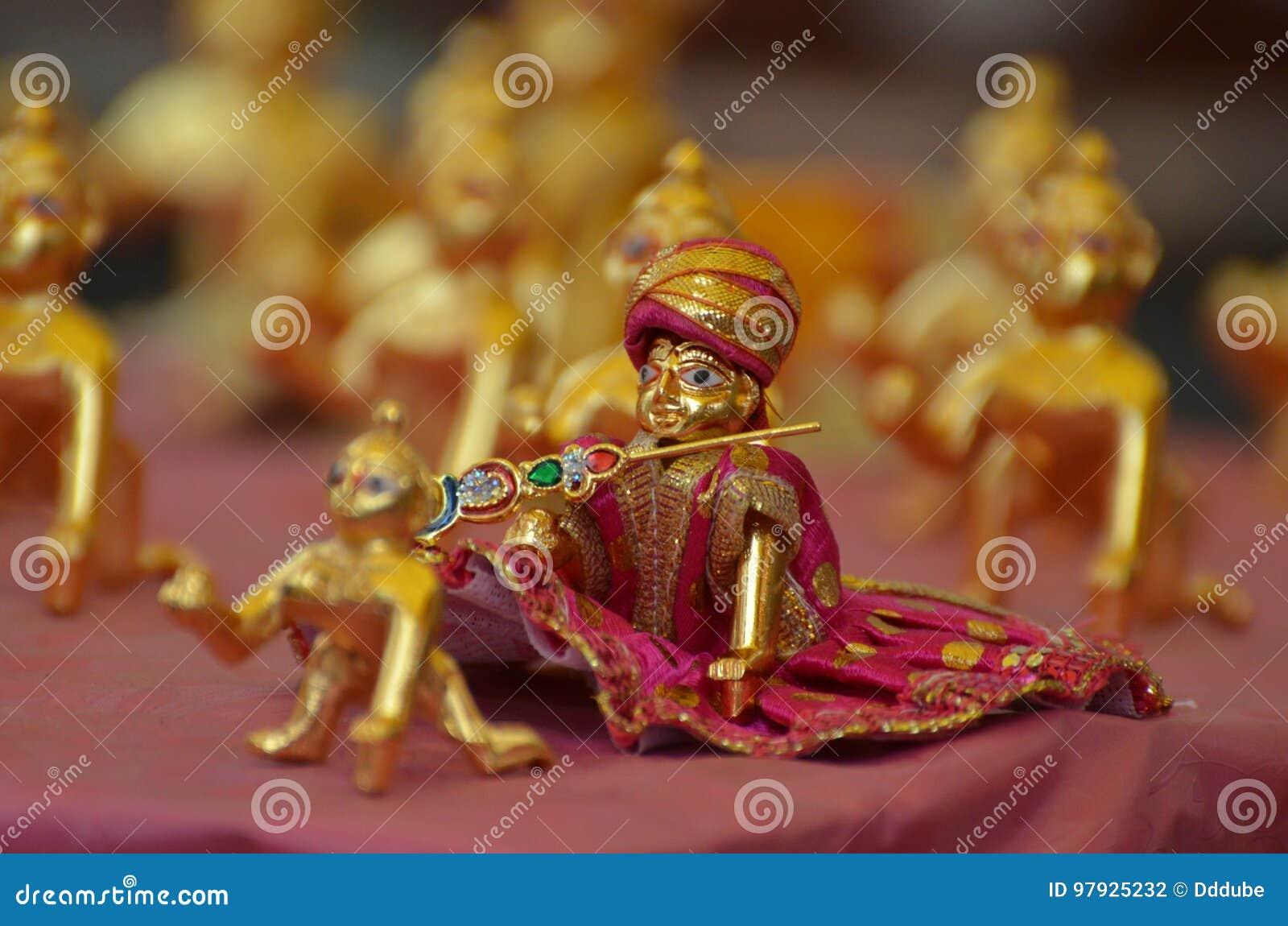 Εορτασμός JANMASHTAMI Λόρδου Krishna