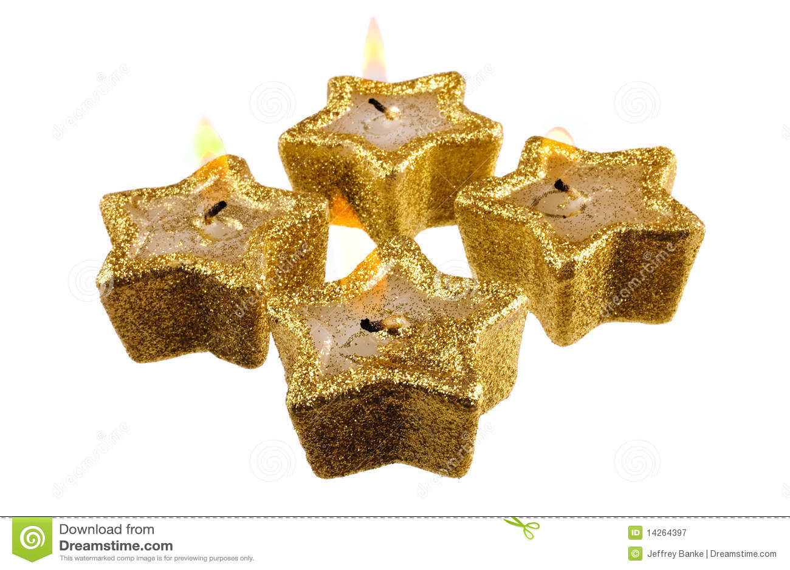 Εορταστικά κεριά