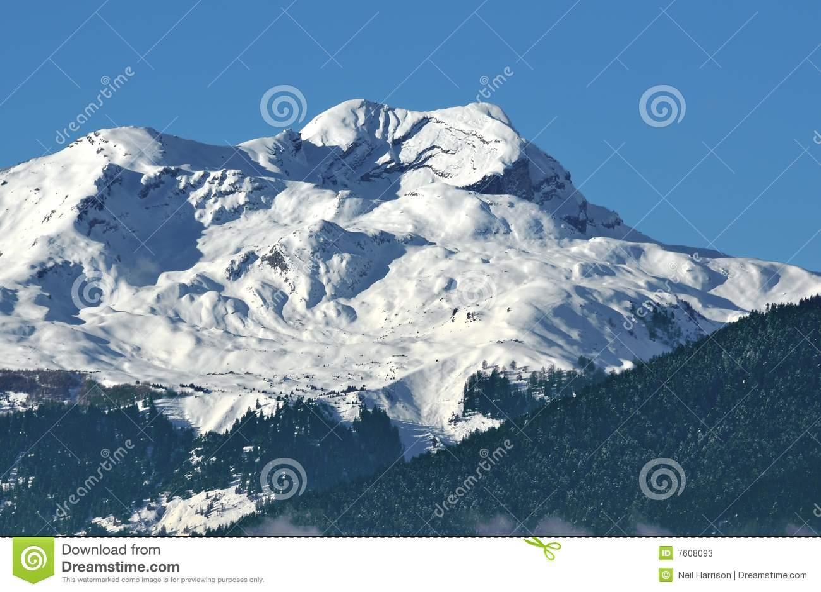 επάνω από τα όρη sion Ελβετός