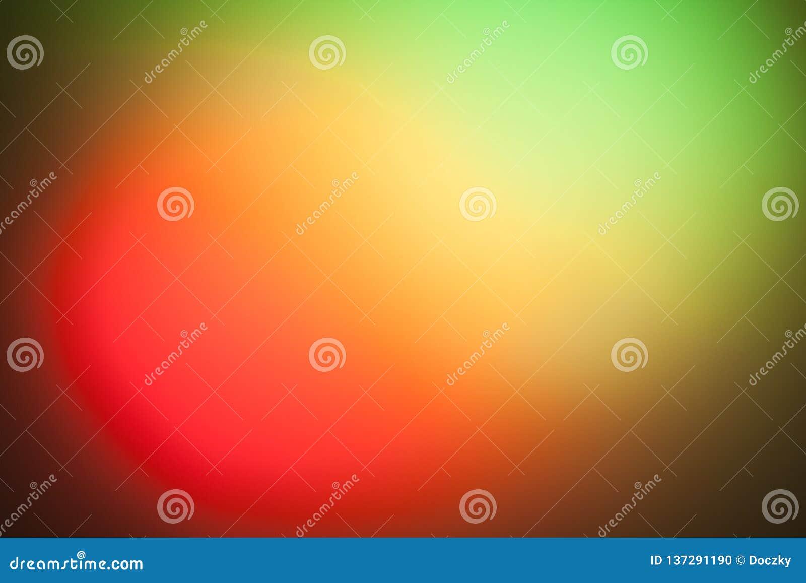 Επίδραση κοκκίνου και πράσινου φωτός στον τοίχο