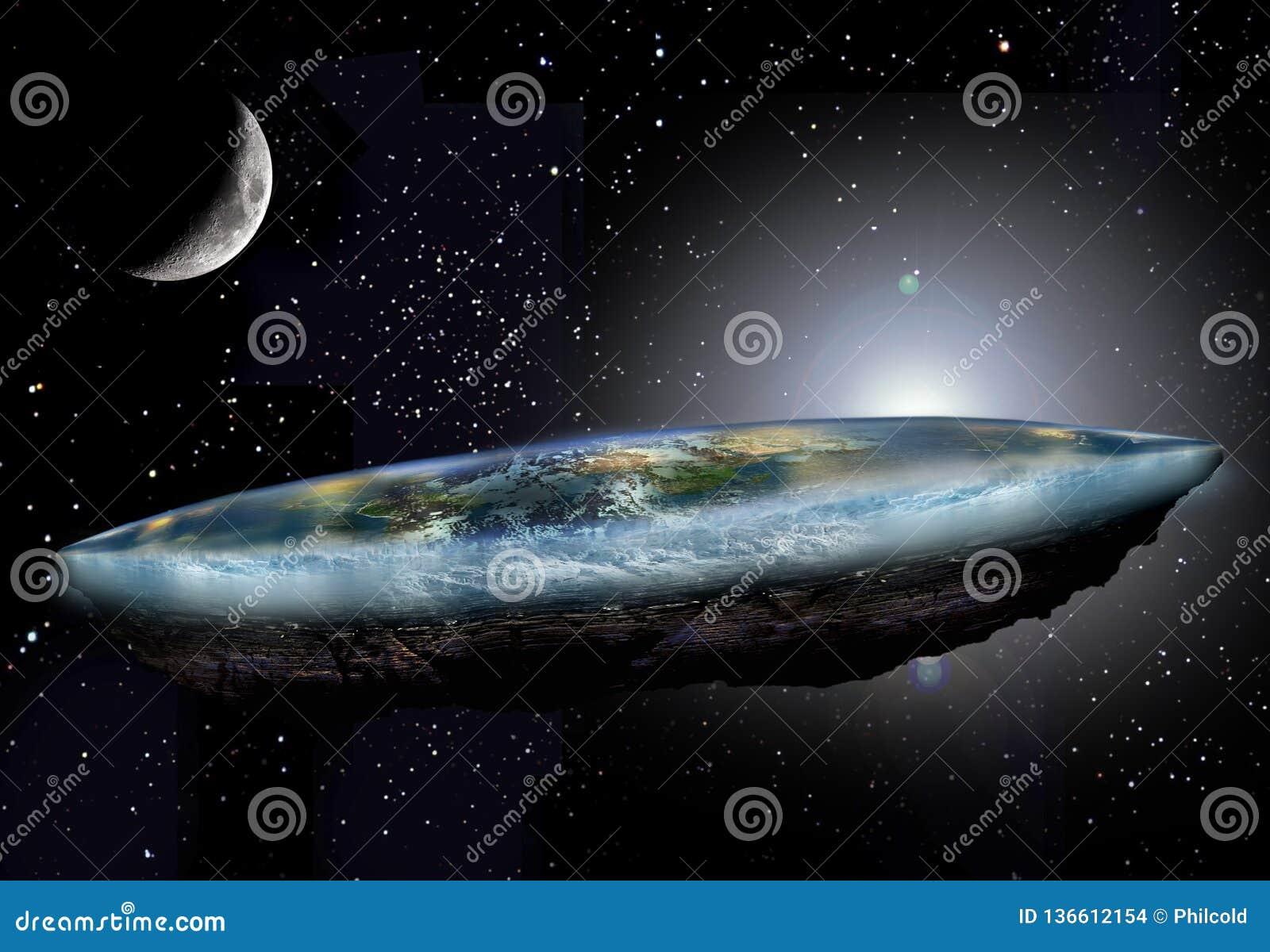 Επίπεδα γη και φεγγάρι