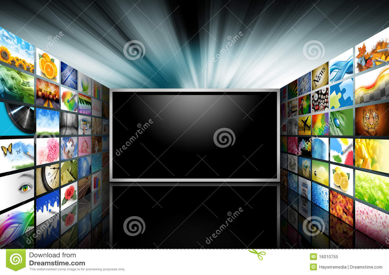 επίπεδη τηλεόραση οθόνης &e