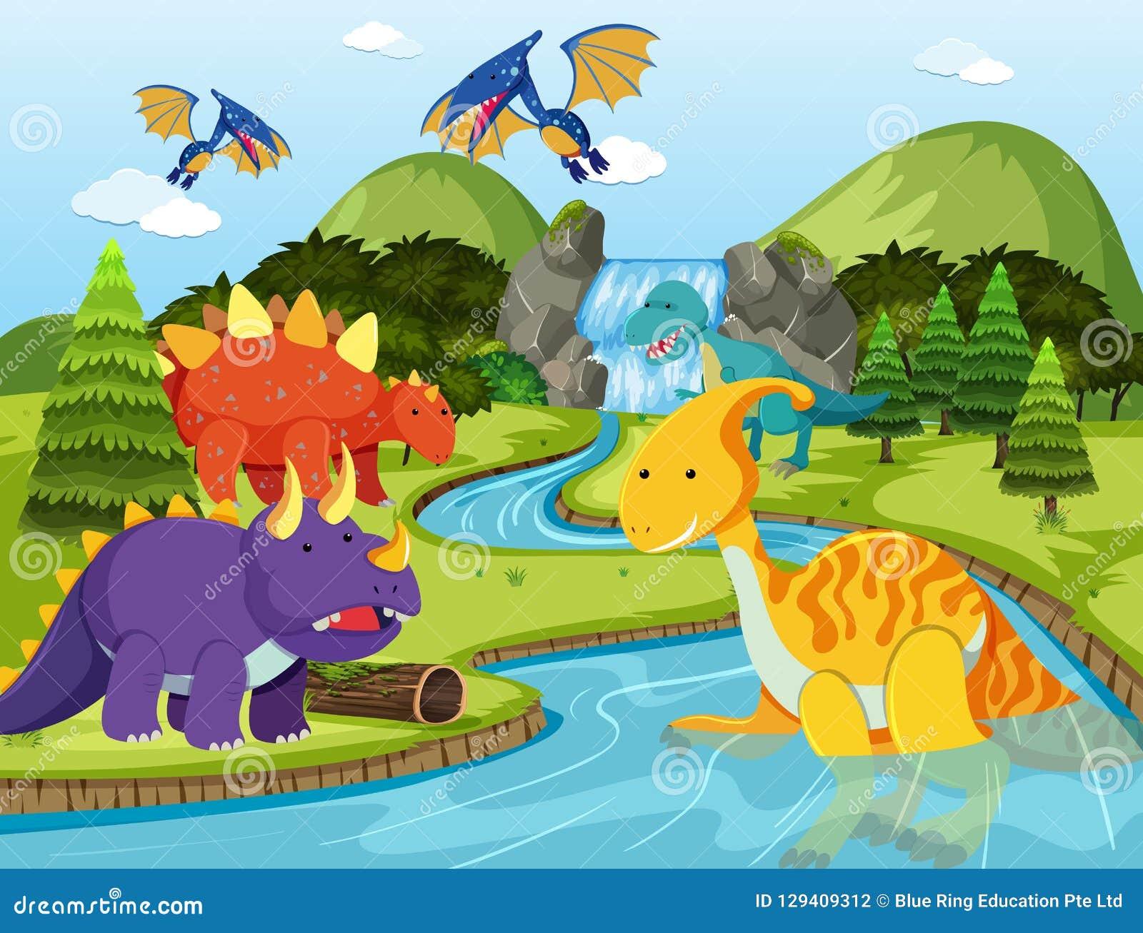 Επίπεδος δεινόσαυρος στη φύση