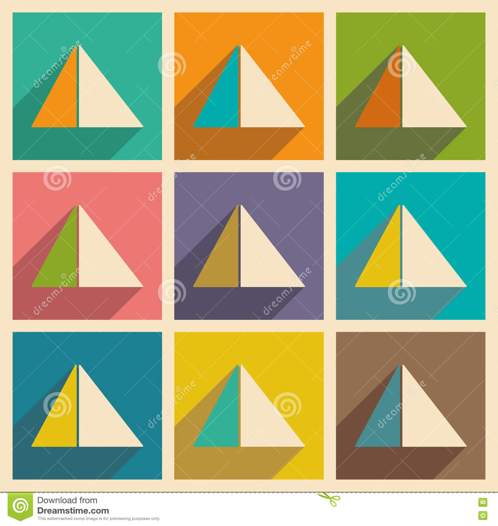 Επίπεδο με την έννοια και τις κινητές πυραμίδες Αίγυπτος σκιών εφαρμογής