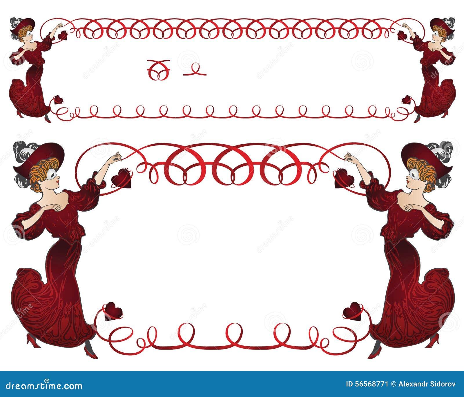 Download επίσης Corel σύρετε το διάνυσμα απεικόνισης Κορίτσι στο κοστούμι καρναβαλιού με μια κορδέλλα Bord Διανυσματική απεικόνιση - εικονογραφία από δελτίο, γραφικός: 56568771