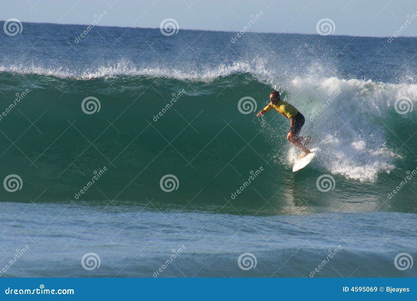 επαγγελματικό surfer του Chris davidson