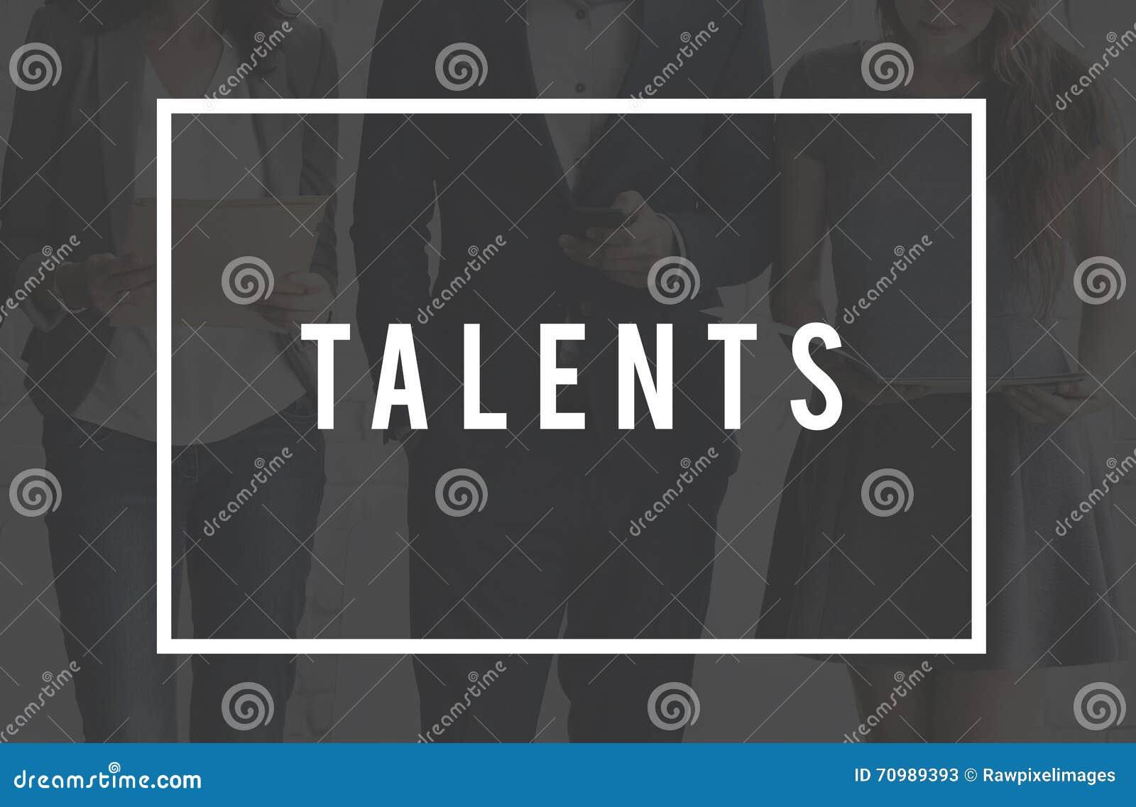 Επαγγελματική έννοια απόδοσης πείρας δυνατότητας δεξιοτήτων ταλέντου