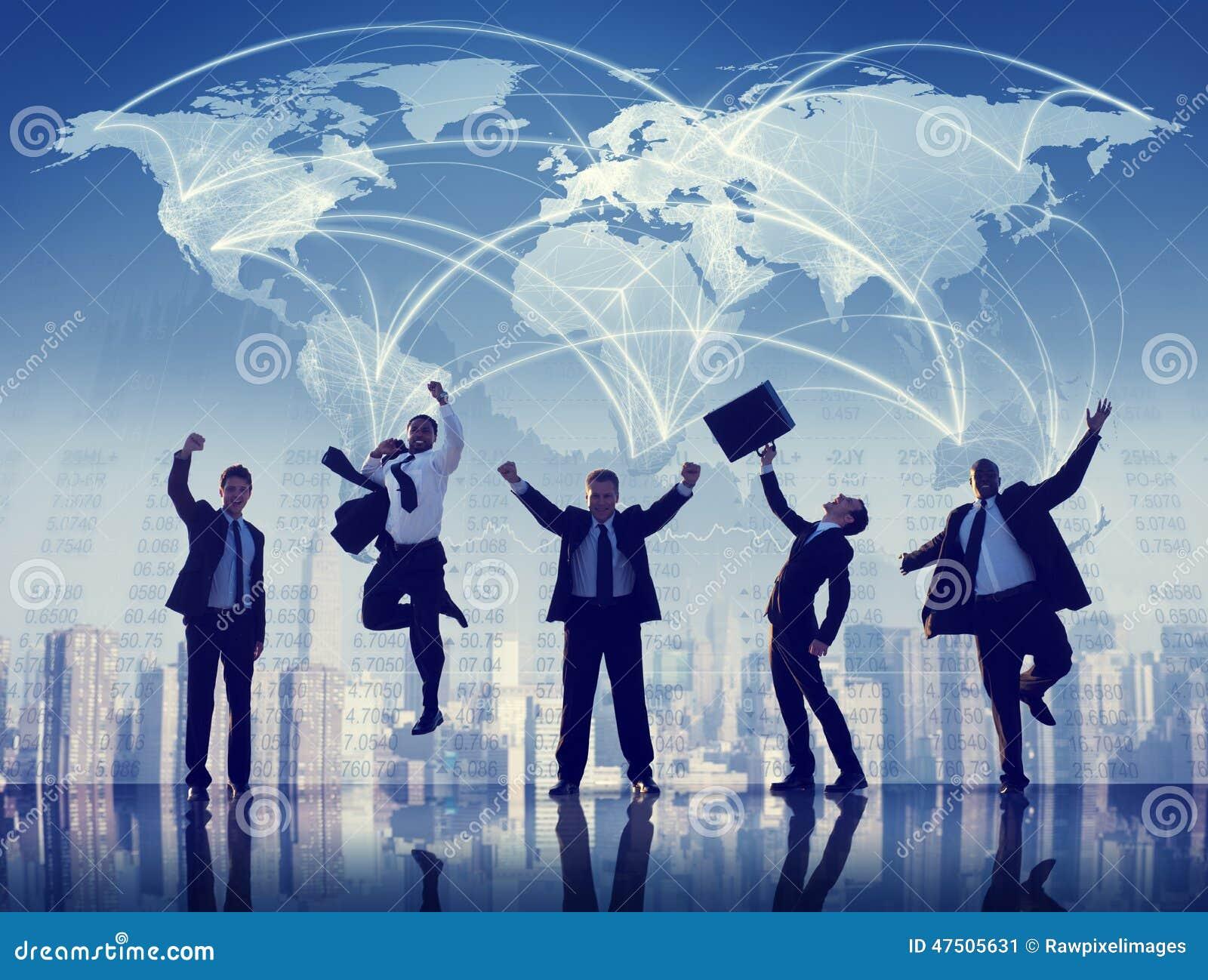 Επαγγελματική έννοια ομαδικής εργασίας ομάδας συνεργασίας επιχειρηματιών