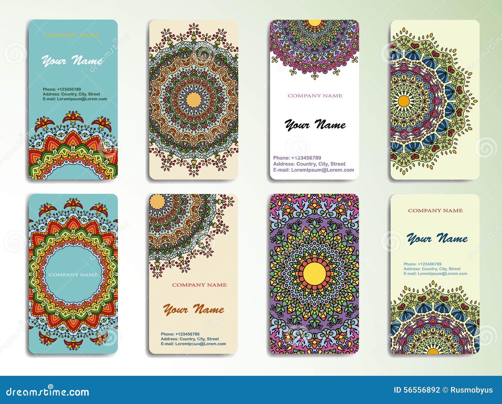 Download Επαγγελματική κάρτα ή πρόσκληση συλλογής Διανυσματική απεικόνιση - εικονογραφία από henna, περισυλλογή: 56556892