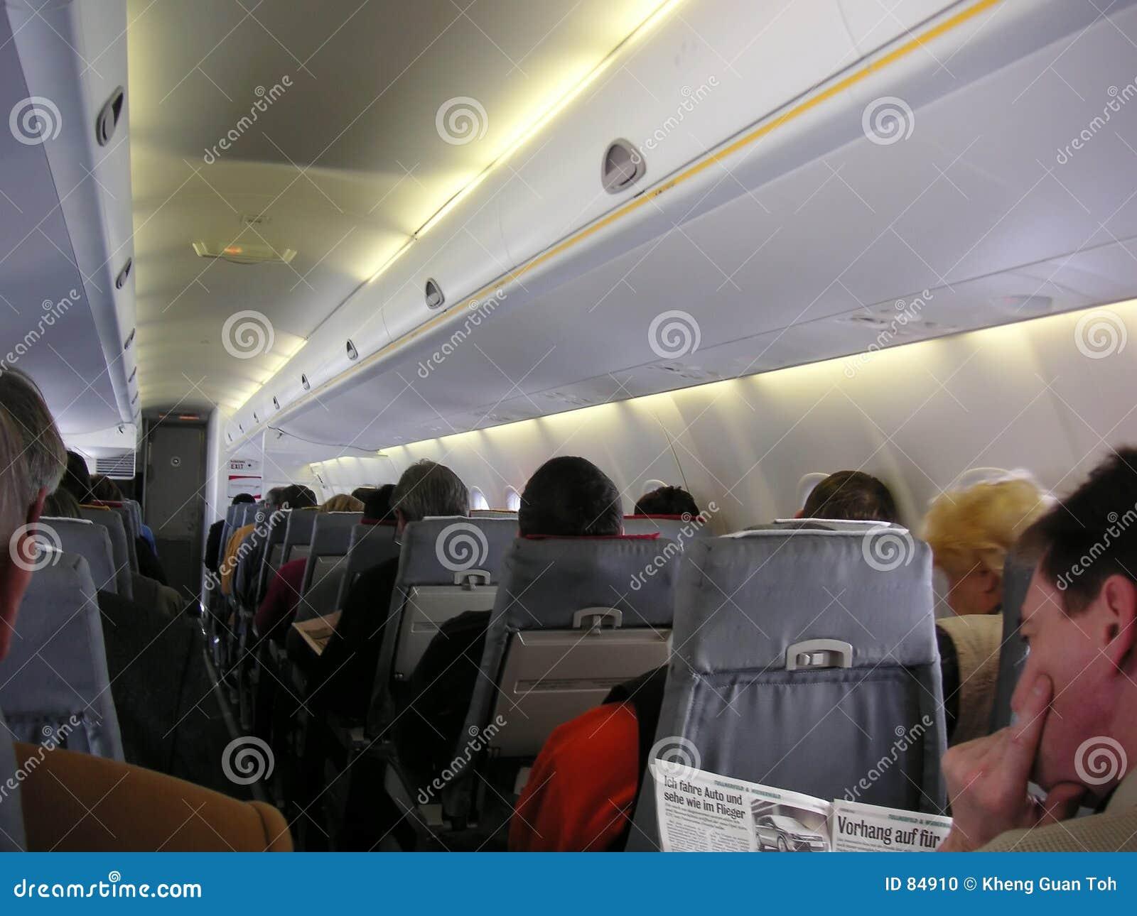 επιβάτες καμπινών αεροπλάνων