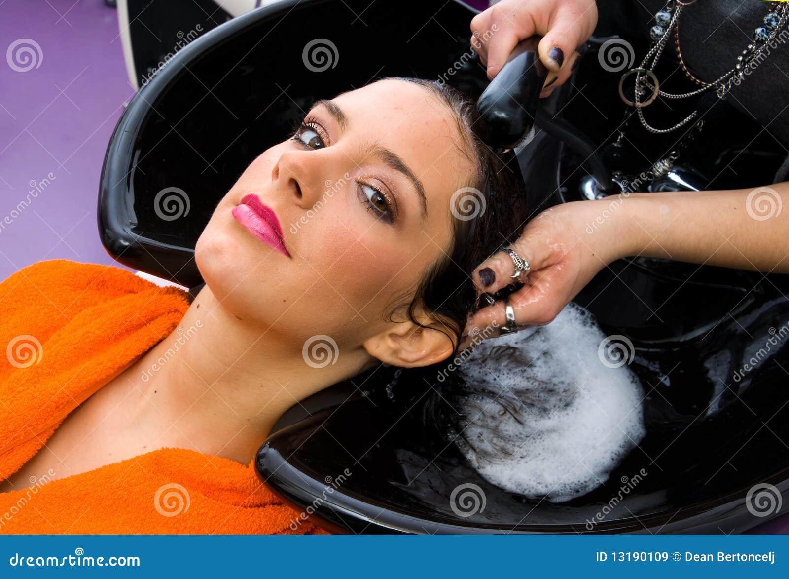 επικεφαλής γυναίκα πλύσ&e