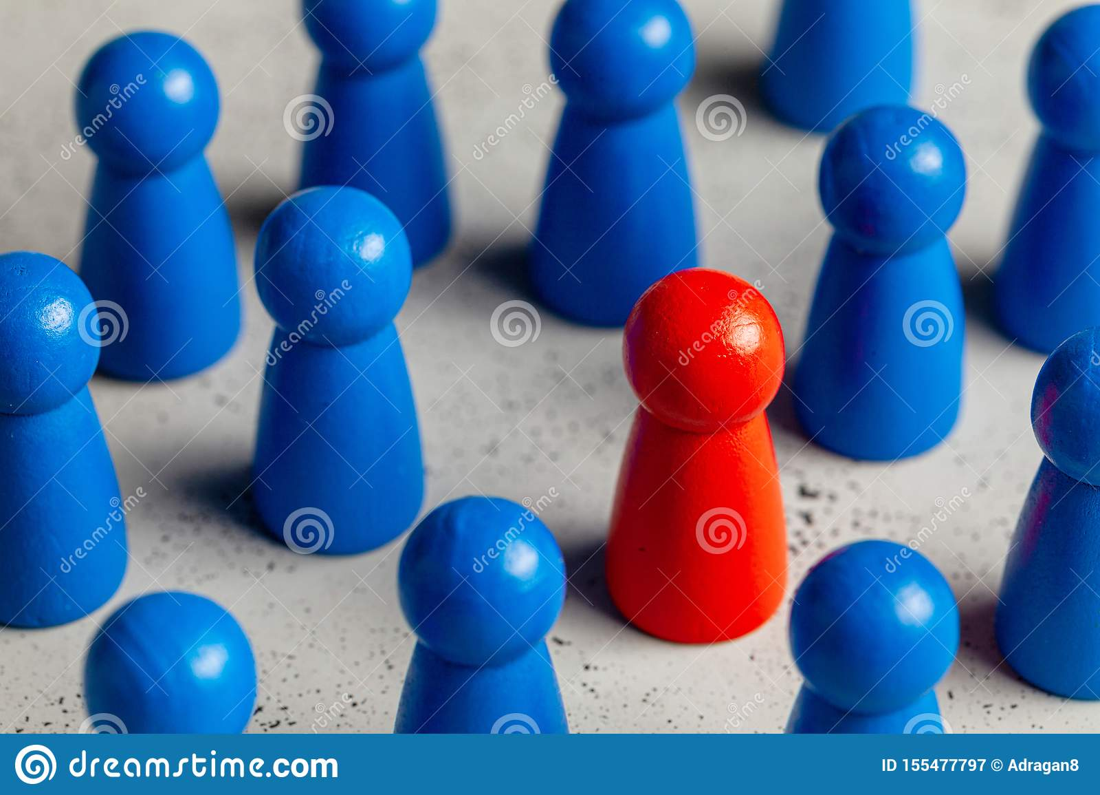 Επιλογή και αναζήτηση του καλύτερου ηγέτη υπαλλήλων Στρατολόγηση προσωπικού, ωρ. Καλές στάσεις εργαζομένων έξω στο πλήθος