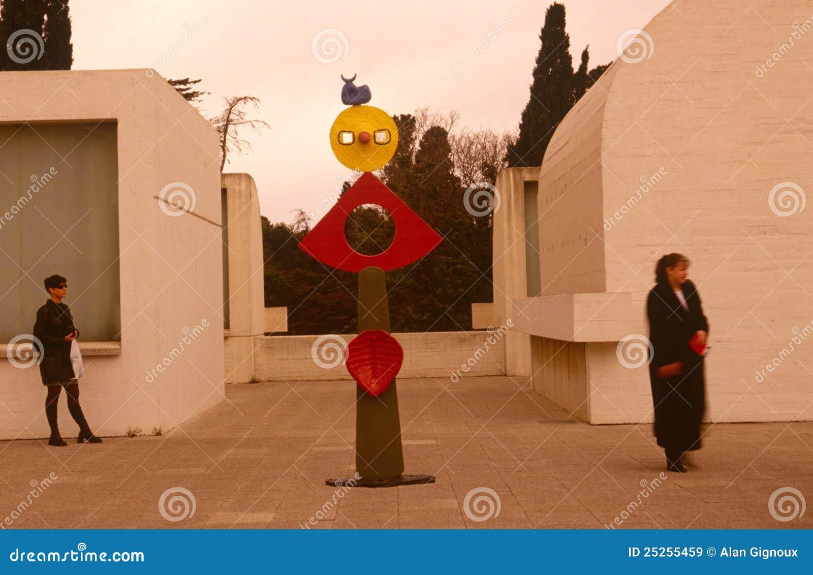 Επισκέπτες σε Fundacio Joan Miro Museu, Βαρκελώνη