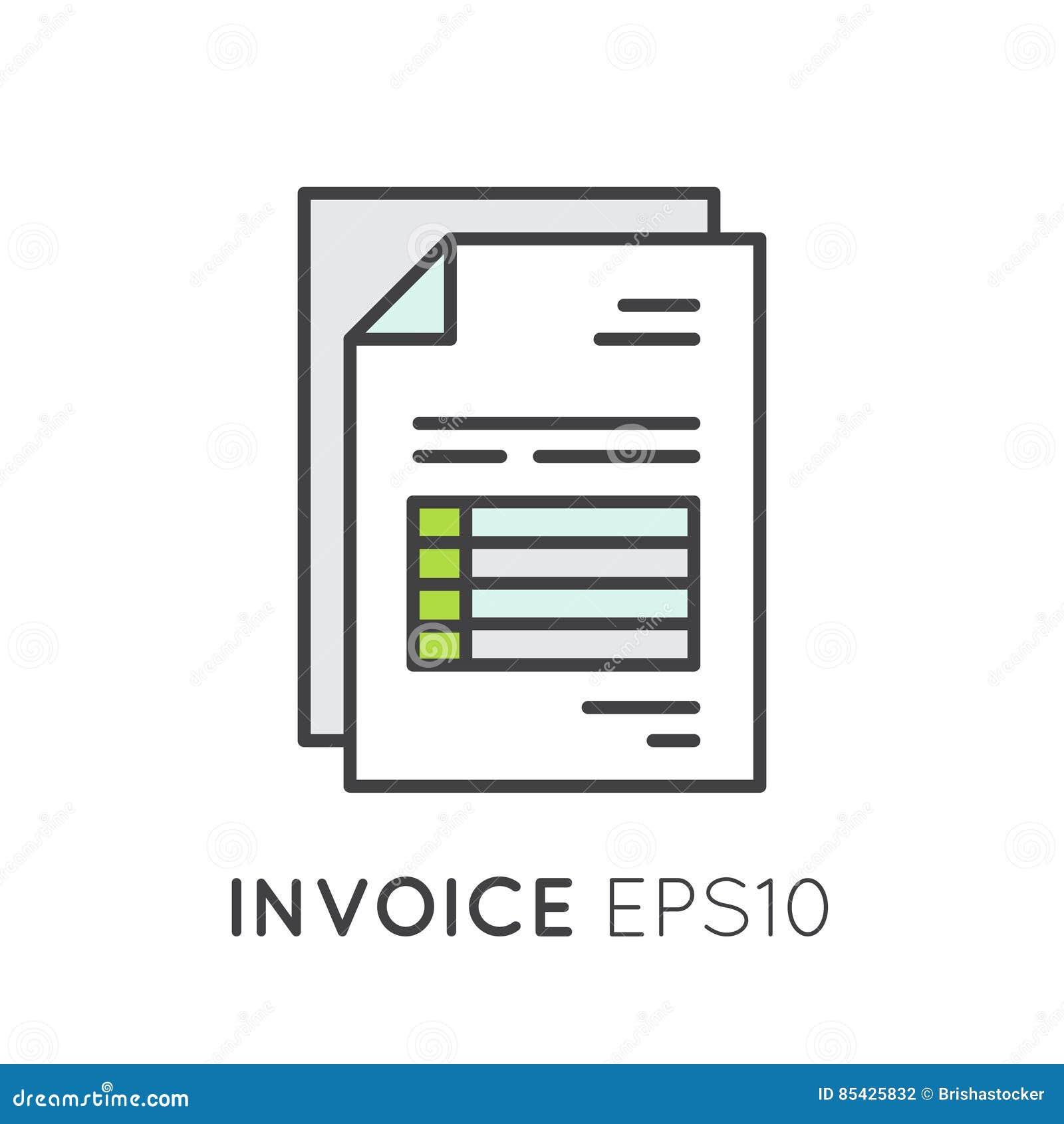 Επιστολή λογαριασμών εγγράφου τιμολογίων για τον αγοραστή ή τον πελάτη