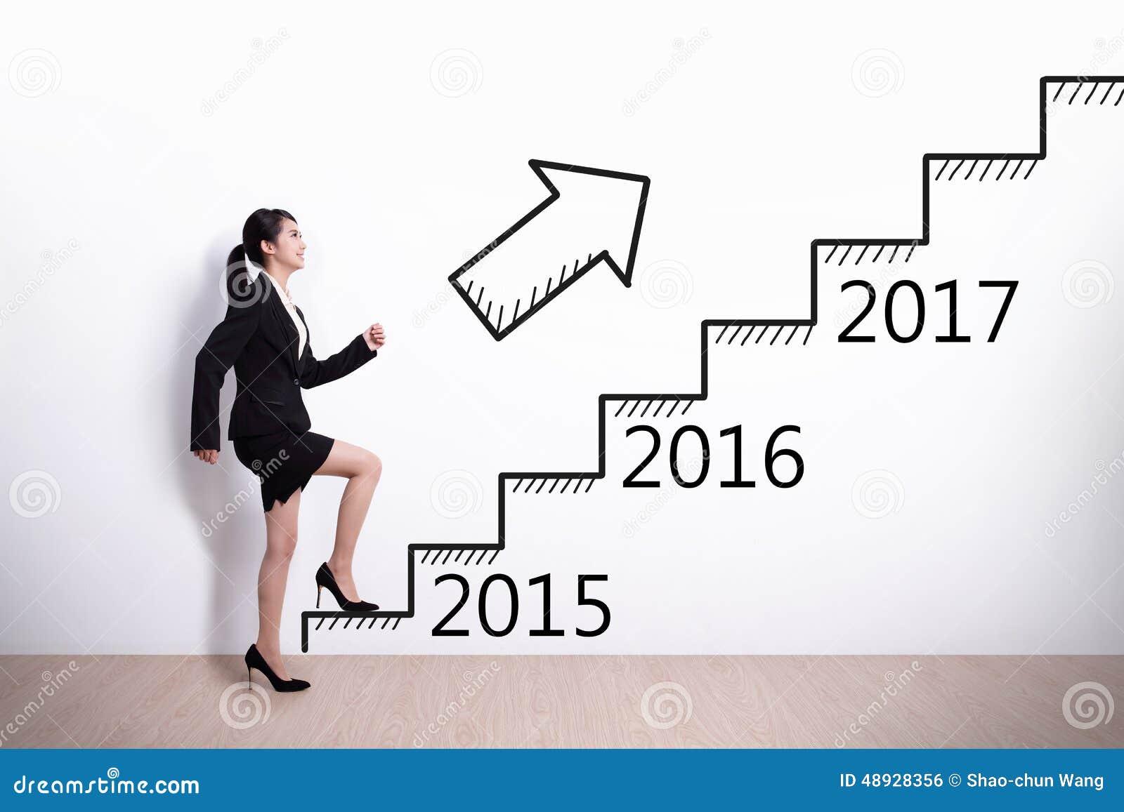 Επιτυχία επιχειρησιακών γυναικών στο νέο έτος
