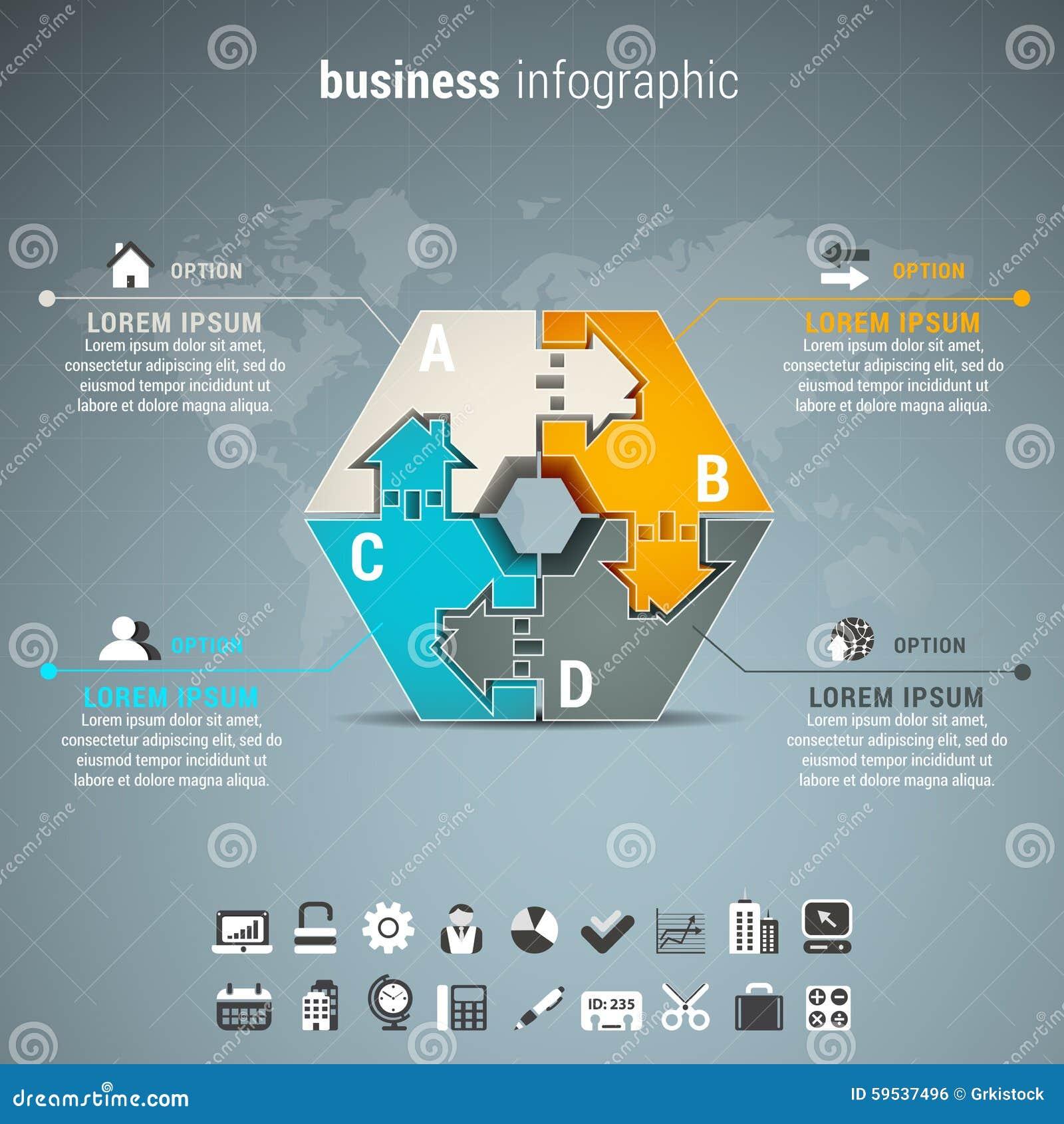 Επιχείρηση Infographic