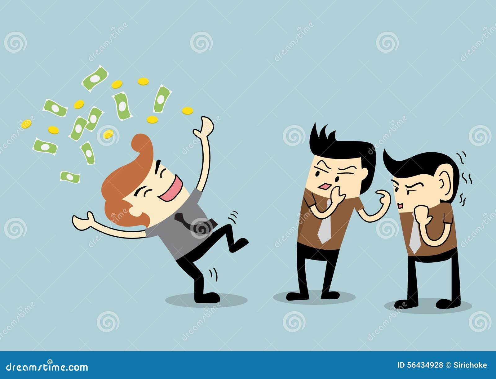 Επιχειρηματίας για να είναι κουτσομπολιό σε έναν πλούσιο υπάλληλο