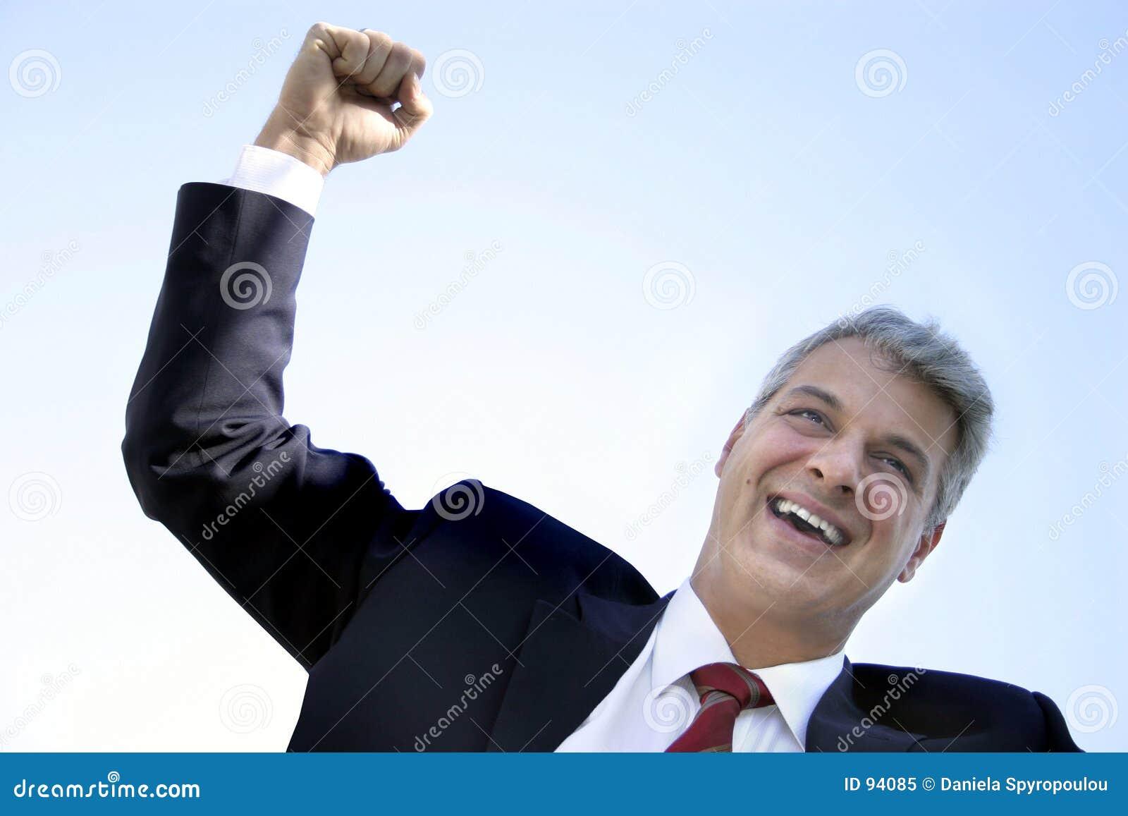 επιχειρηματίας ευτυχής