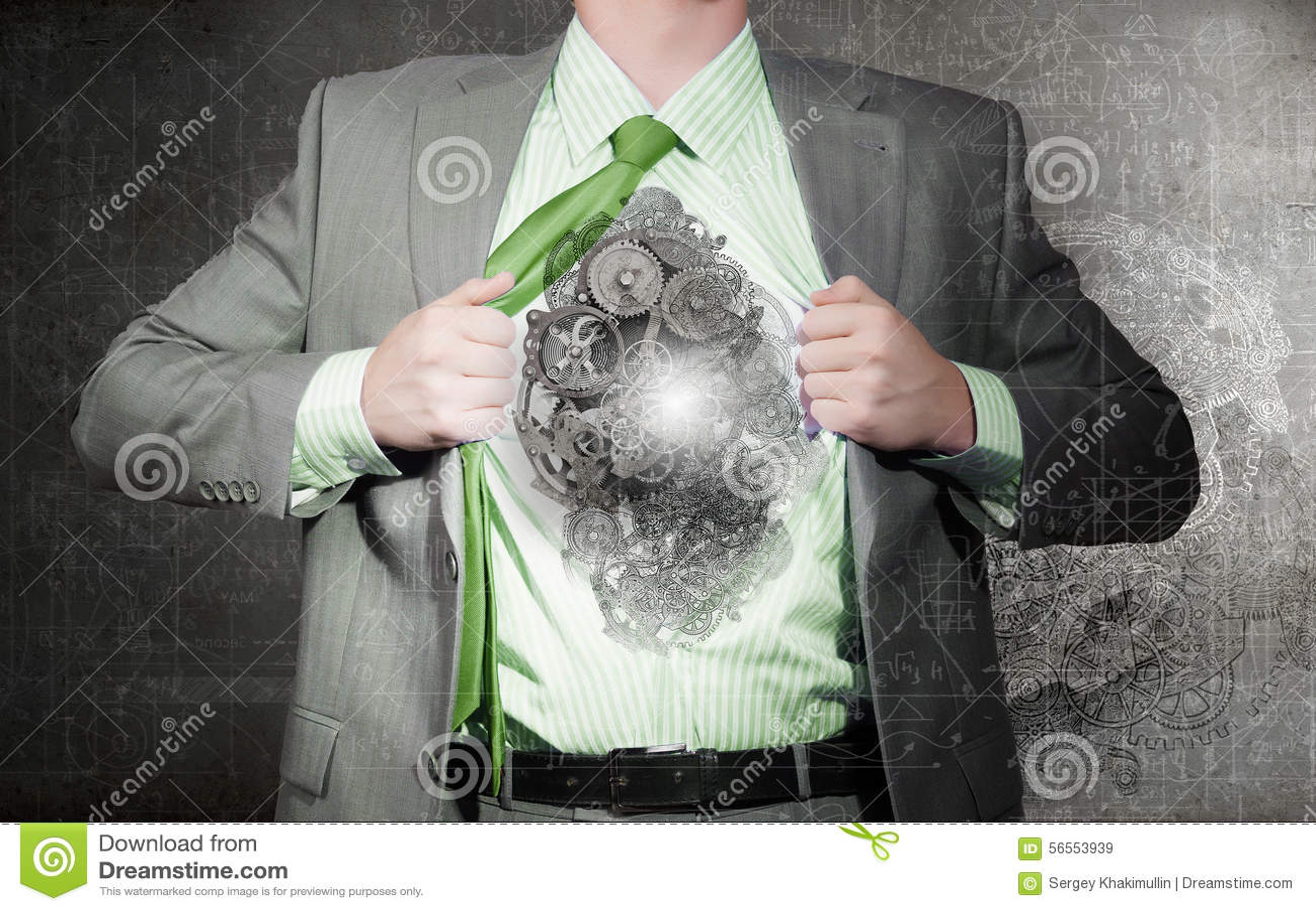 Download Επιχειρηματίας και ιδέα στοκ εικόνα. εικόνα από υπάλληλος - 56553939