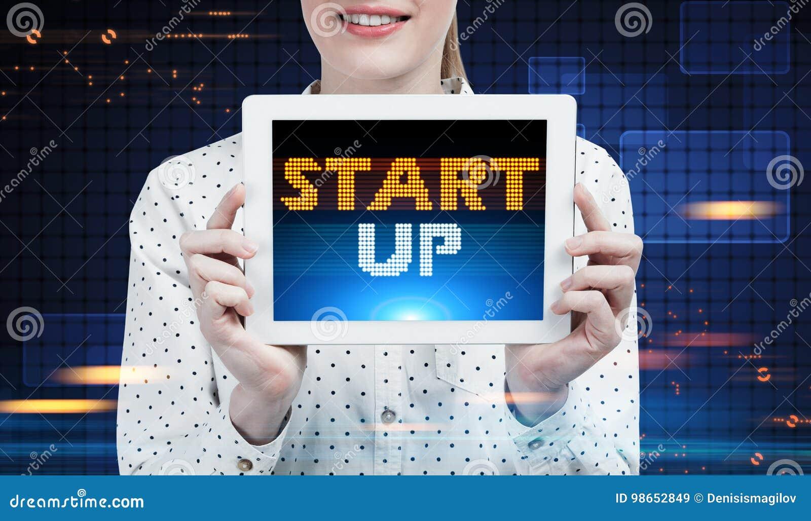 Επιχειρηματίας με μια ταμπλέτα, ξεκίνημα, μέλλον