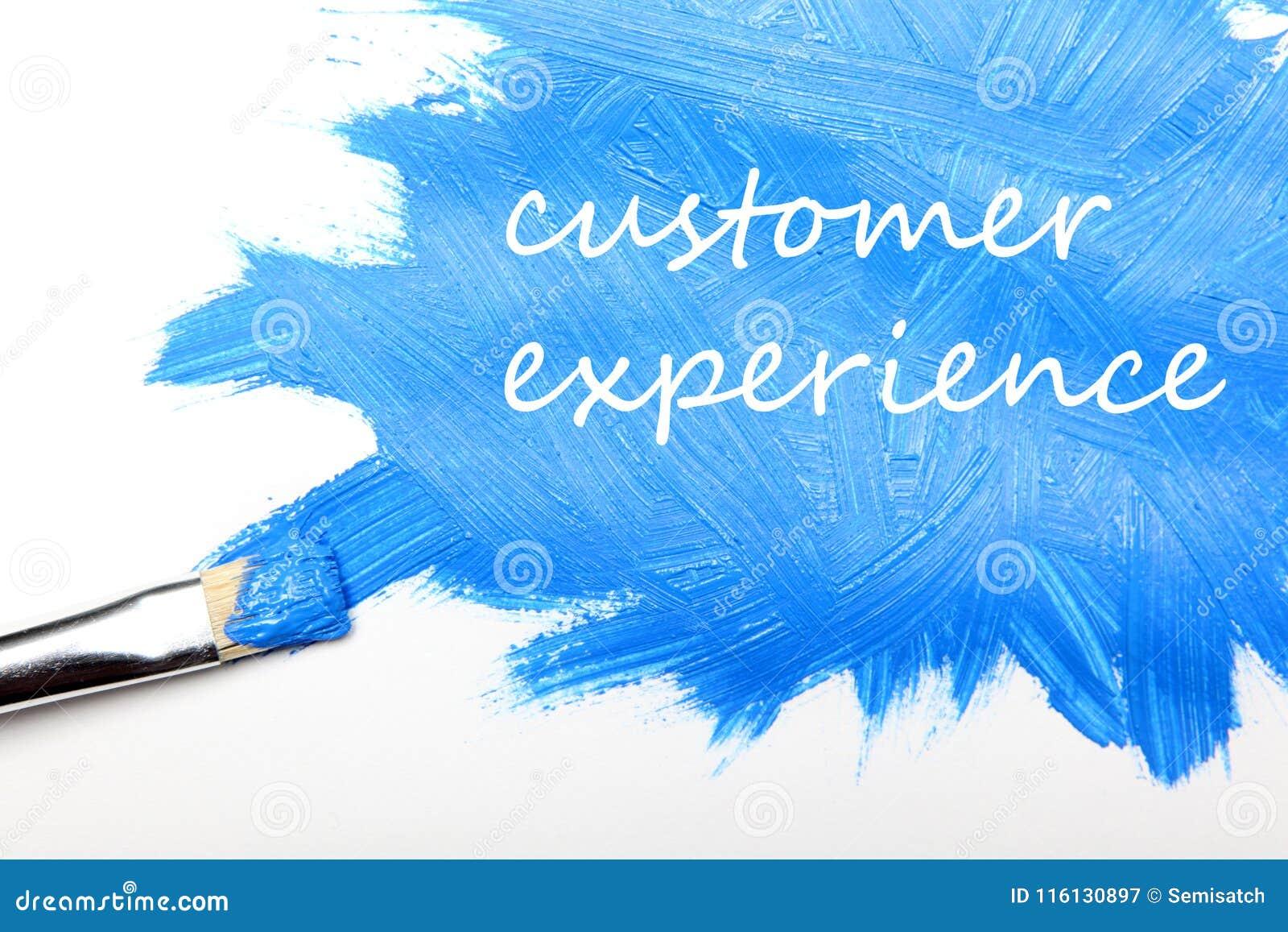 Επιχειρησιακή έννοια εμπειρίας πελατών