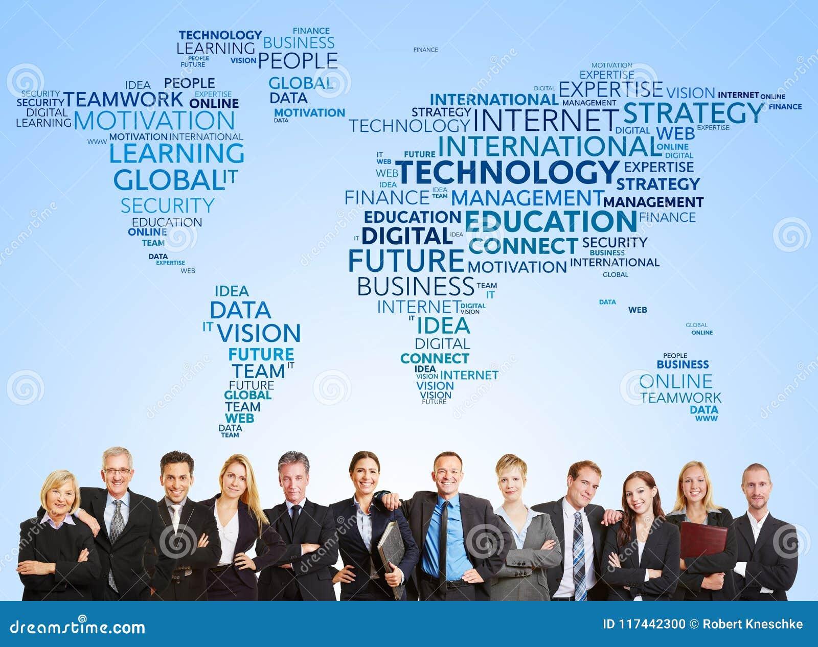 Επιχειρησιακή ομάδα και διεθνής τεχνολογία