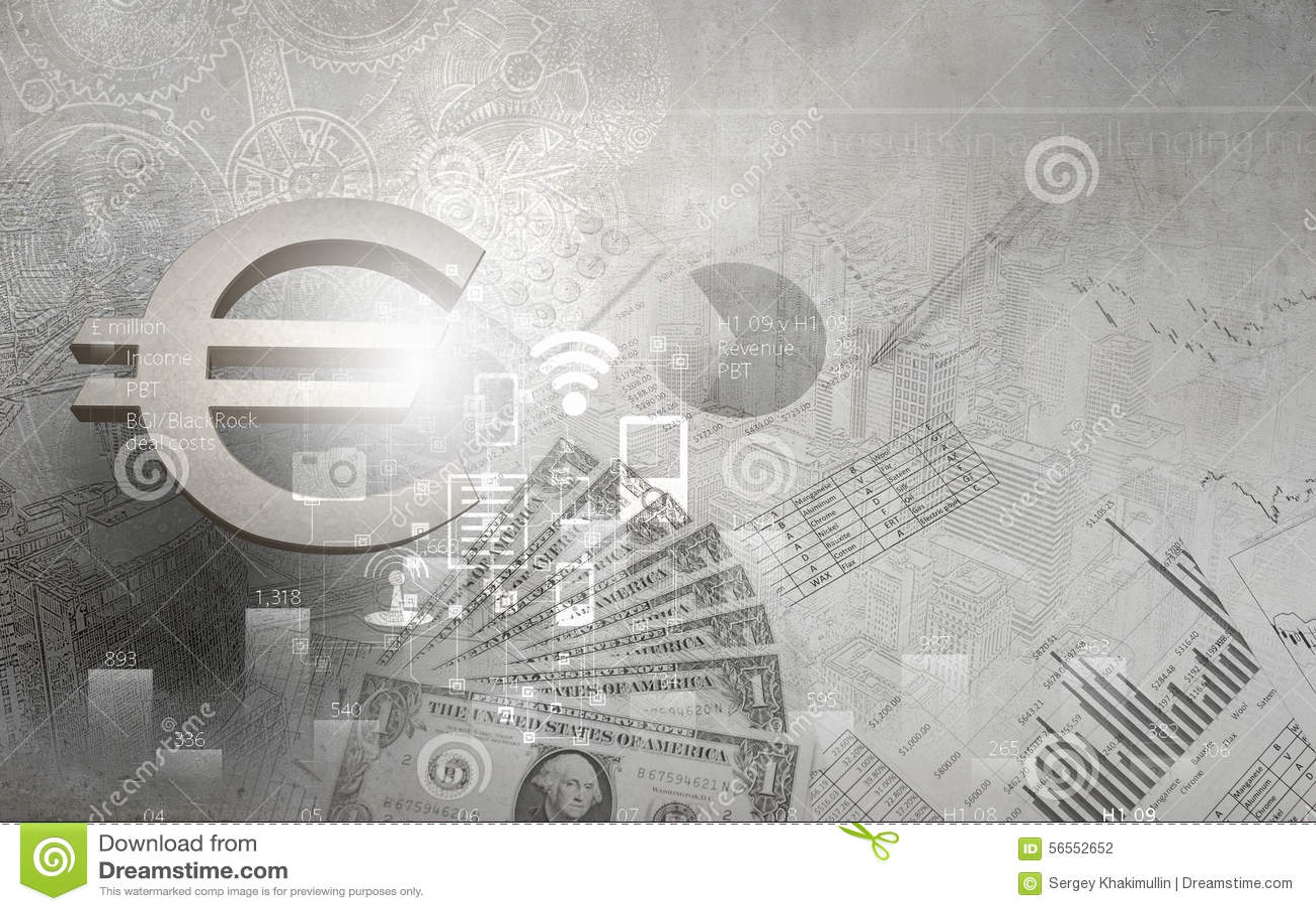 Download Επιχειρησιακό θέμα στοκ εικόνες. εικόνα από χρηματοδότηση - 56552652