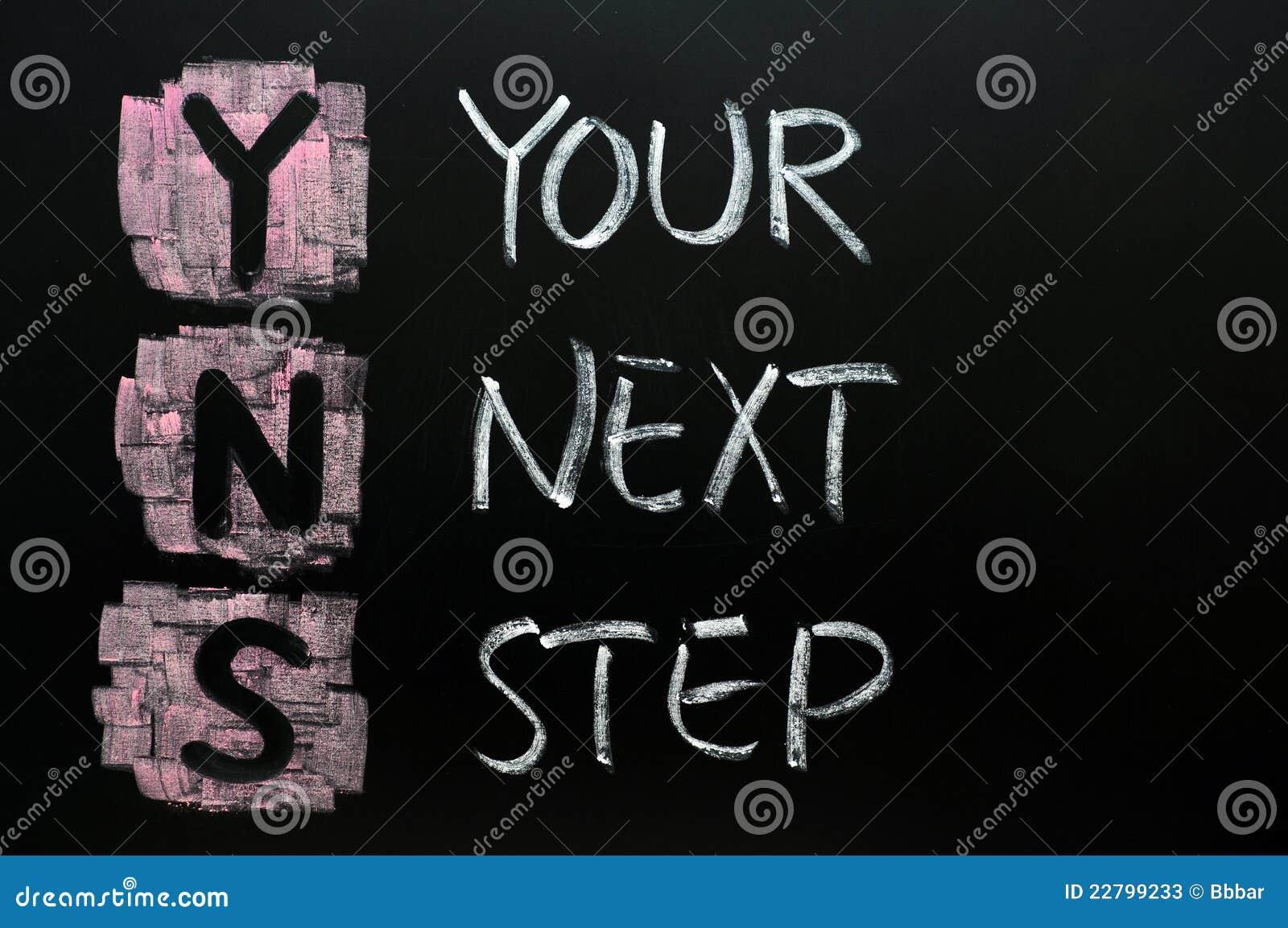 επόμενο βήμα σας