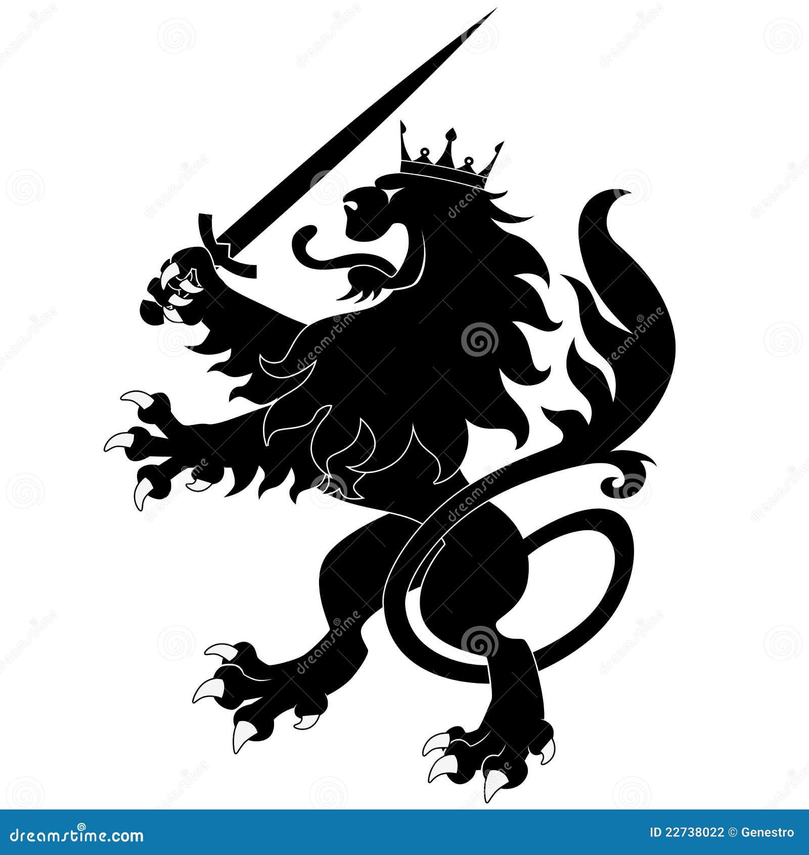 εραλδικό ξίφος λιονταριώ
