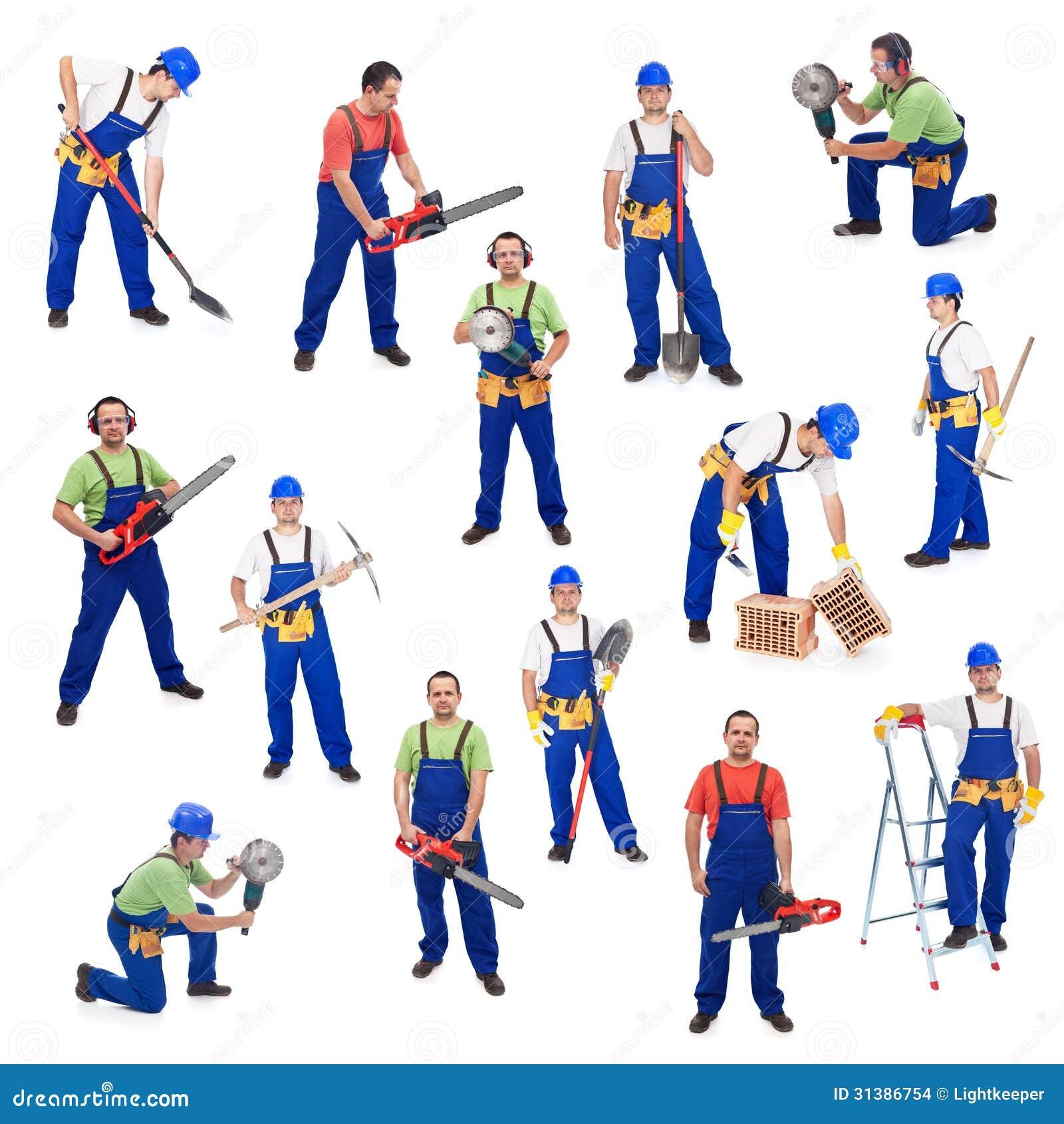 Εργαζόμενοι από τη Οικοδομική Βιομηχανία