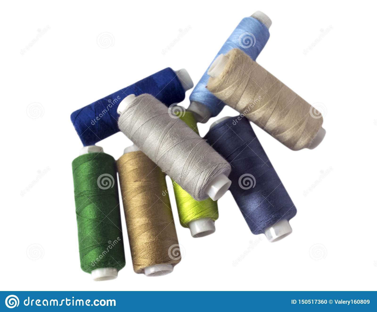 εργαλεία για το ράψιμο και τη ραπτική χόμπι πολύχρωμο ράβοντας νήμα