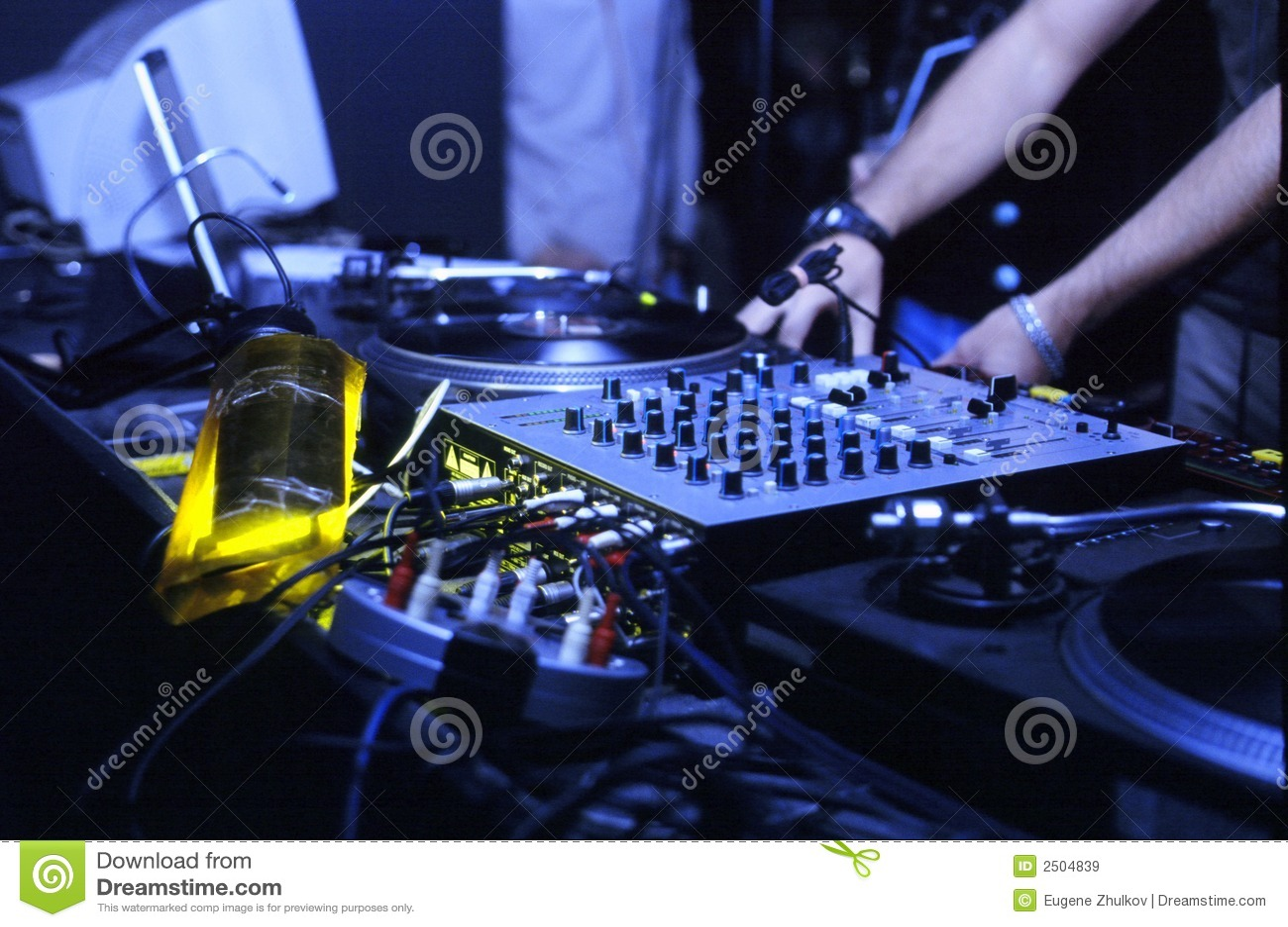 εργασία του DJ
