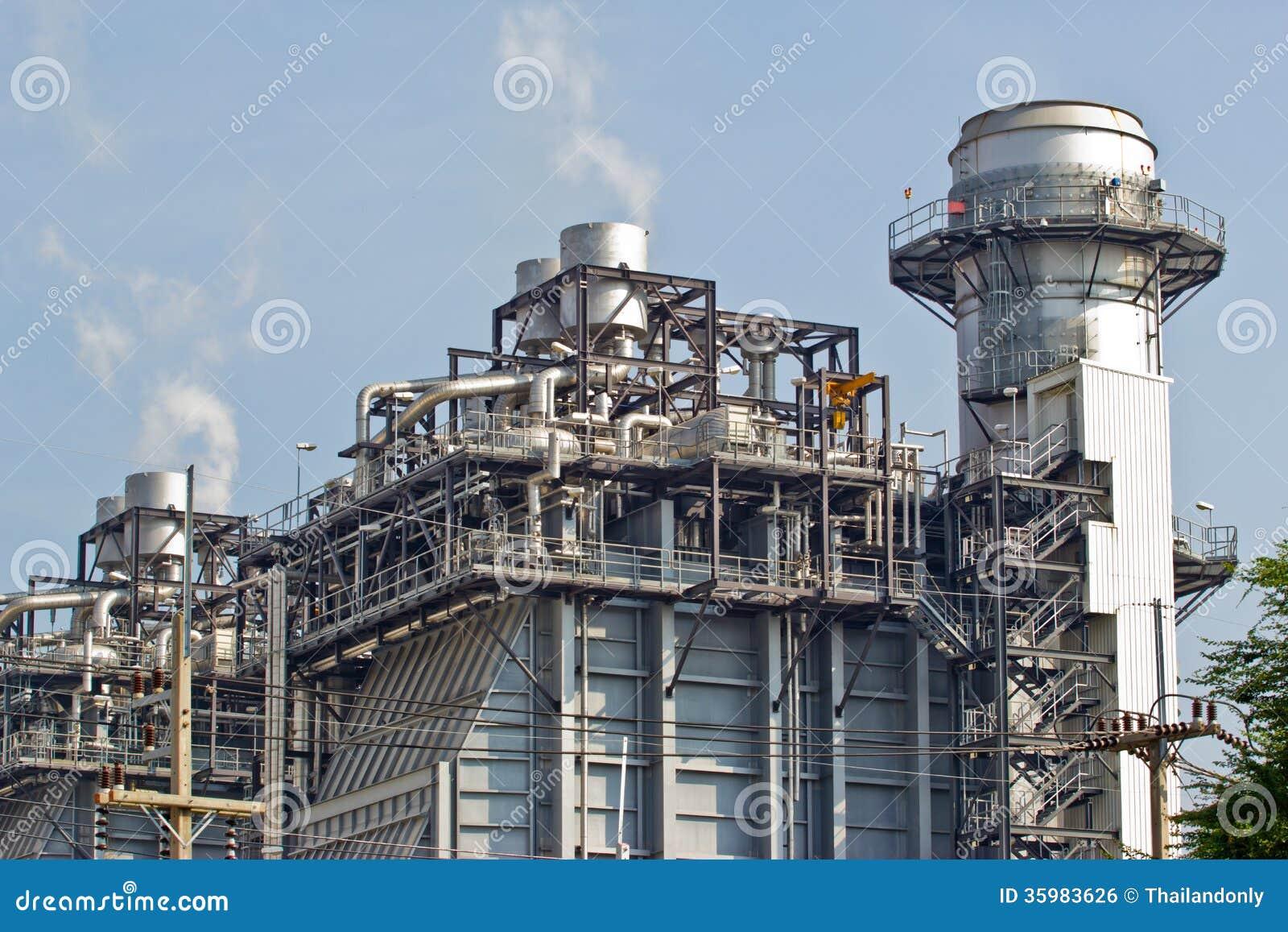 Εργοστάσιο επεξεργασίας αερίου