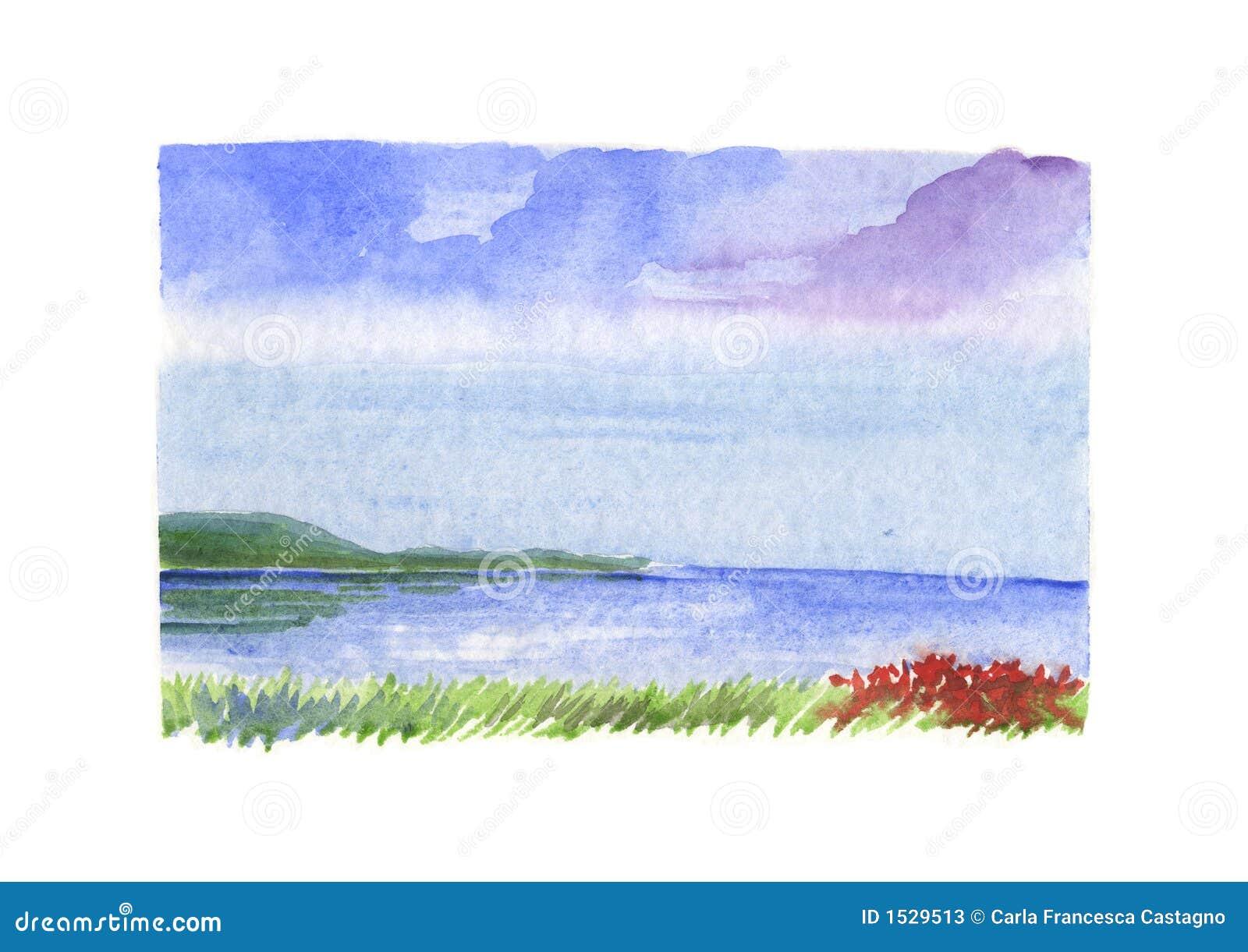 Ερυθρά Θάλασσα τοπίων λο