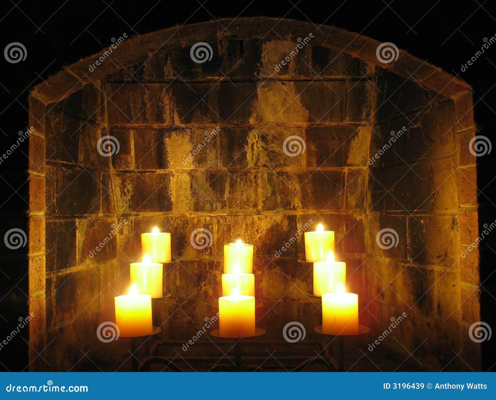 εστία κεριών