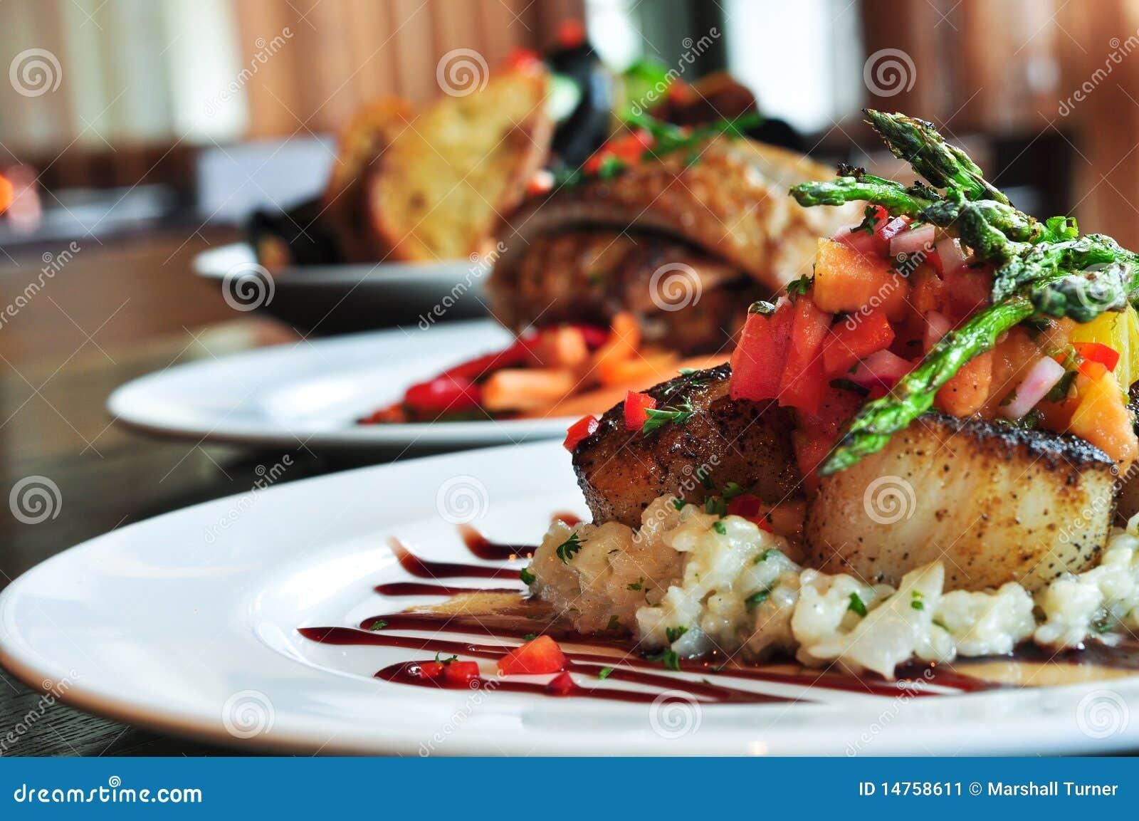 εστιατόριο τρία πιάτων