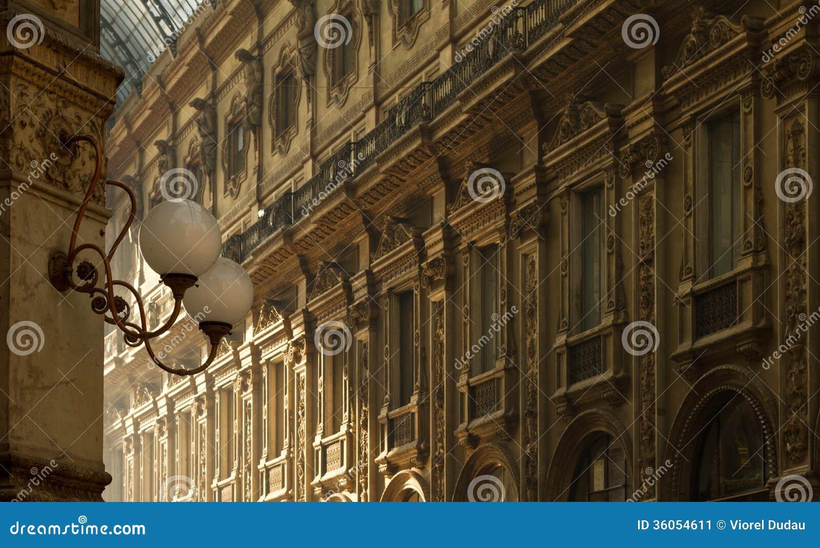 Εσωτερική αρχιτεκτονική του Emanuele Gallery Vittorio