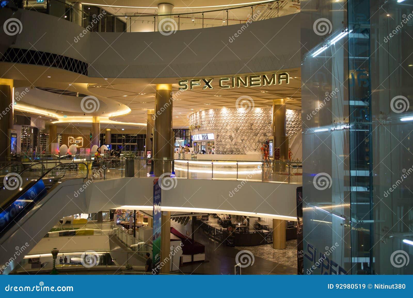 Εσωτερικό εμπορικό κέντρο τρόπου ζωής της Maya